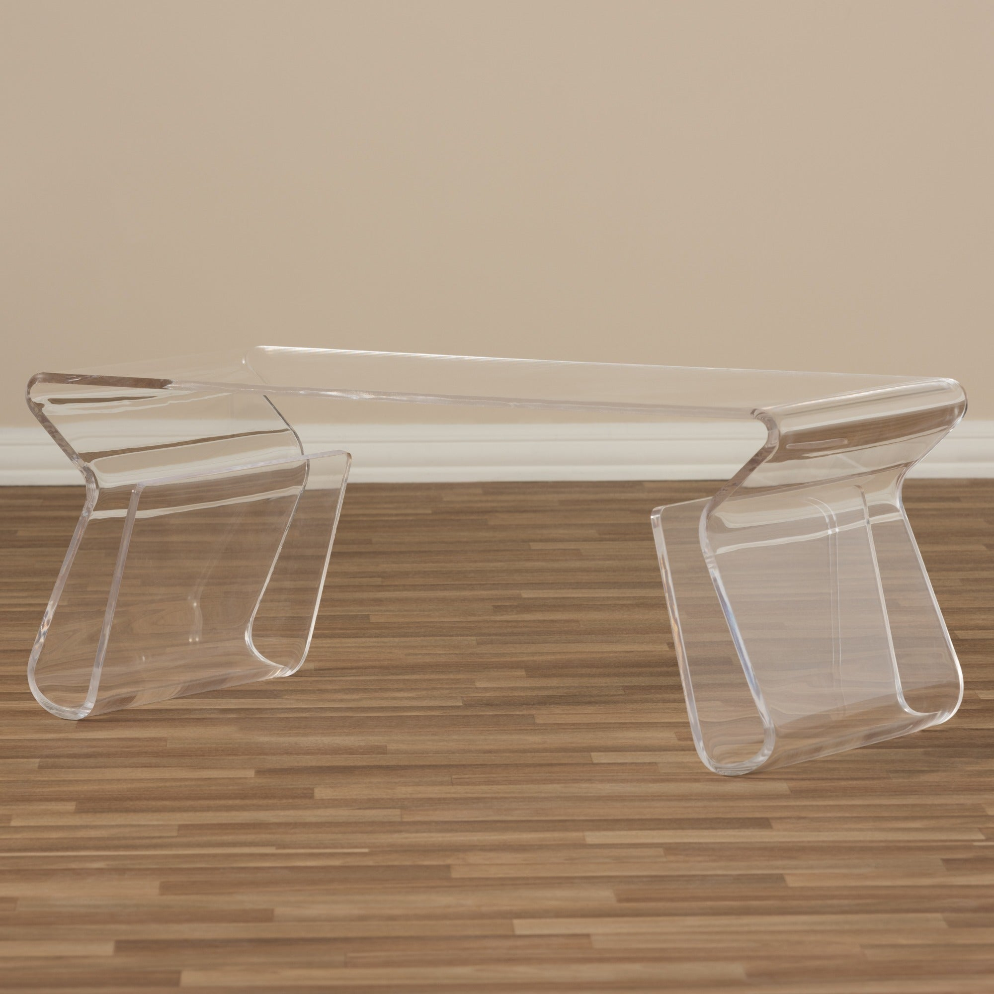 Adair Acrylic Coffee Table Pertaining To Most Recently Released Presson 3 Piece Counter Height Dining Sets (View 13 of 20)