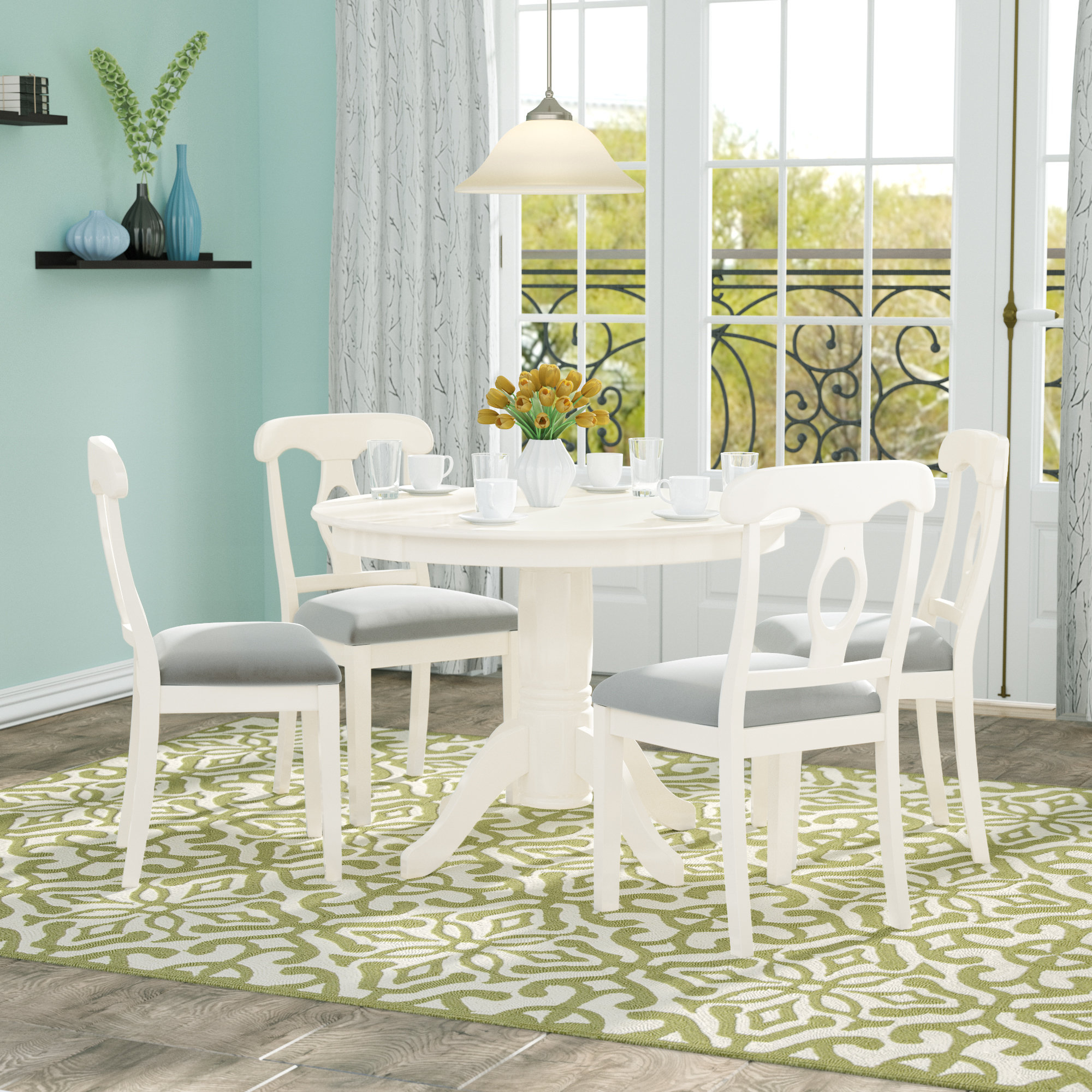Adda 5 Piece Dining Set In Most Recent 5 Piece Dining Sets (View 11 of 20)