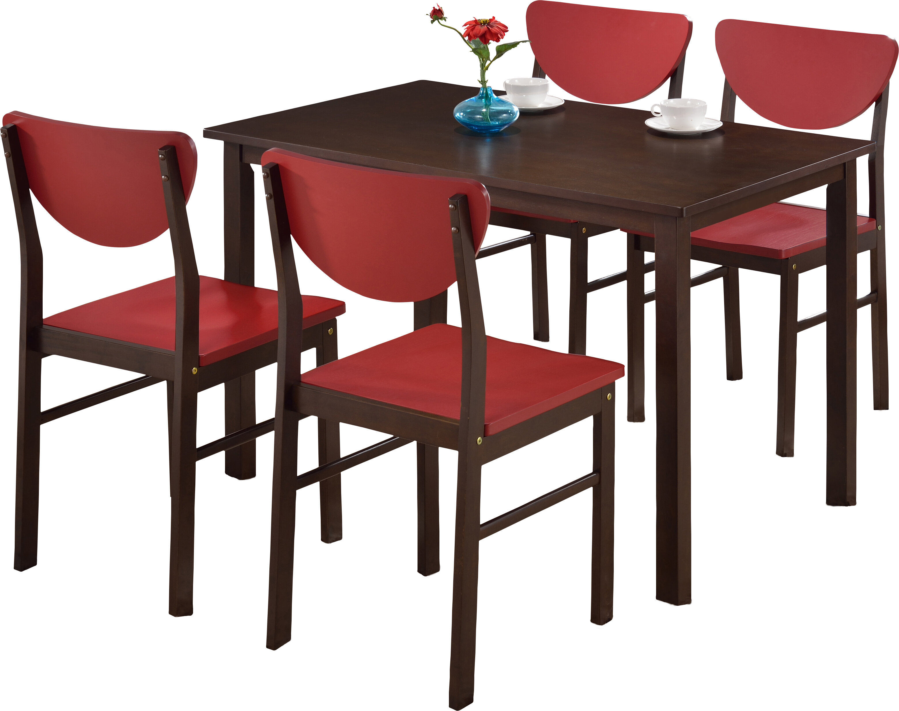 Alesha 5 Piece Dining Set With Regard To Most Recently Released Linette 5 Piece Dining Table Sets (View 9 of 20)