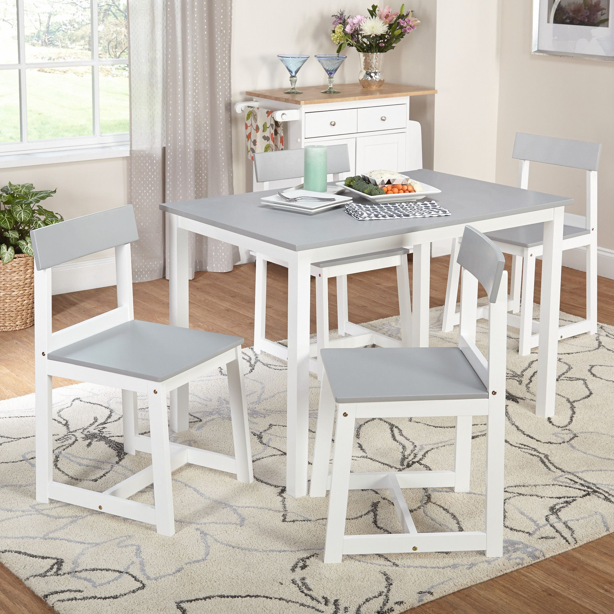 Featured Image of Aria 5 Piece Dining Sets