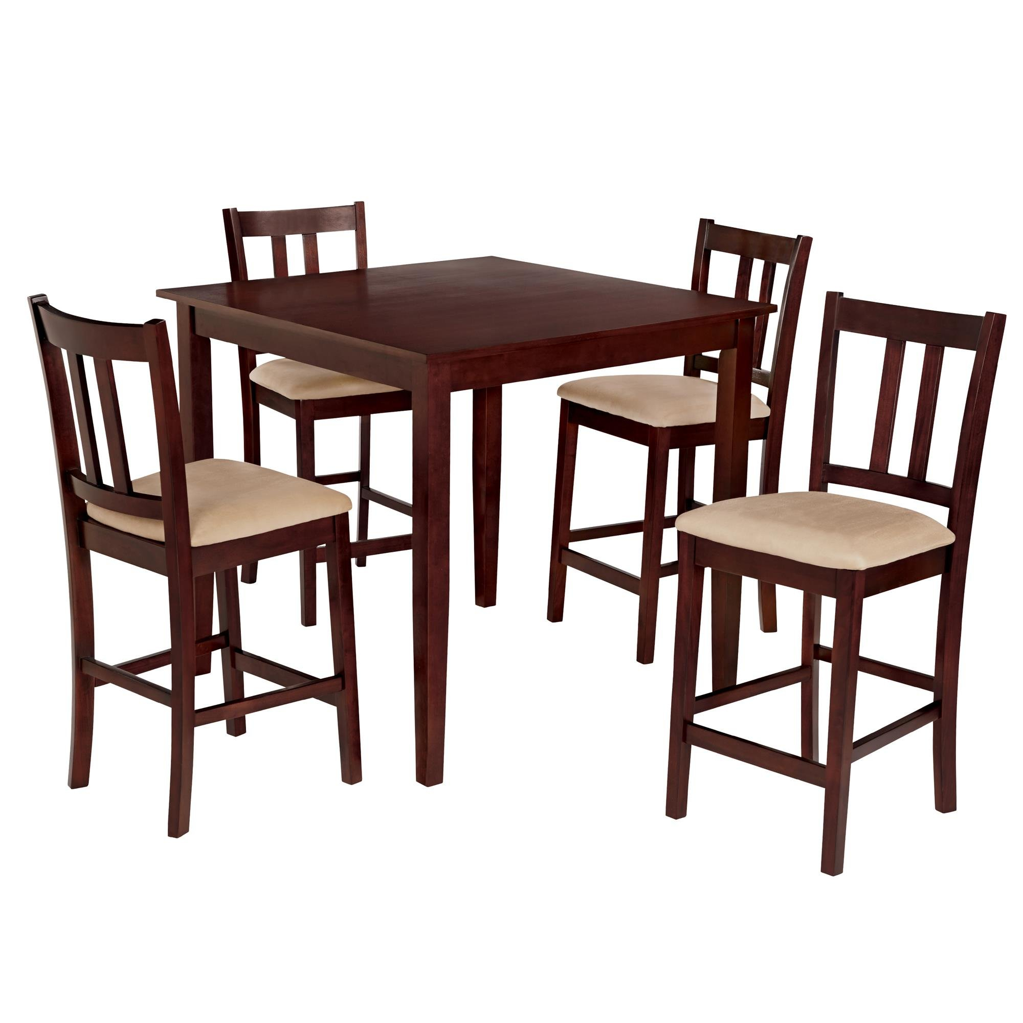 Atterberry 5 Piece Solid Wood Dining Set Regarding 2018 Sundberg 5 Piece Solid Wood Dining Sets (Image 2 of 20)