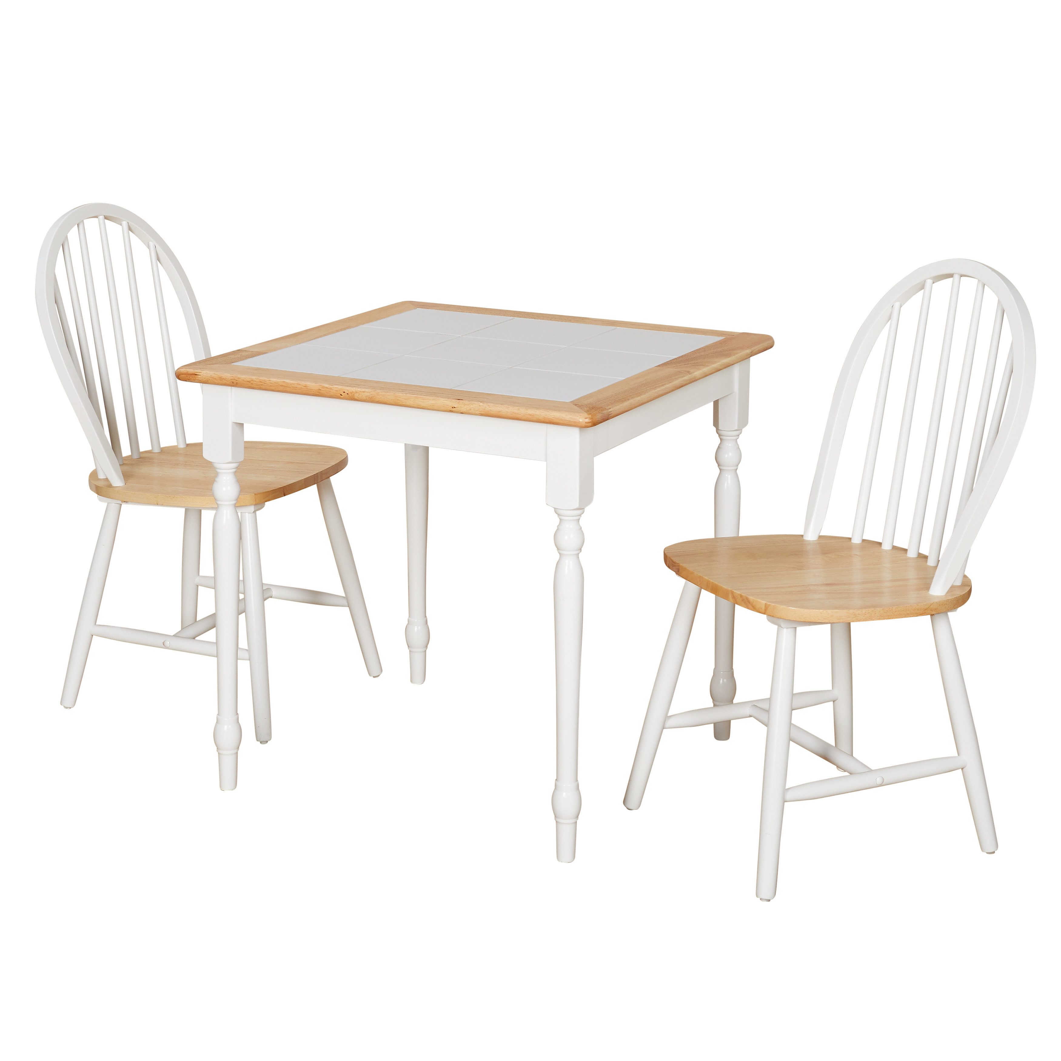 August Grove Llanas 3 Piece Dining Set Inside 2017 Nutter 3 Piece Dining Sets (Image 5 of 20)