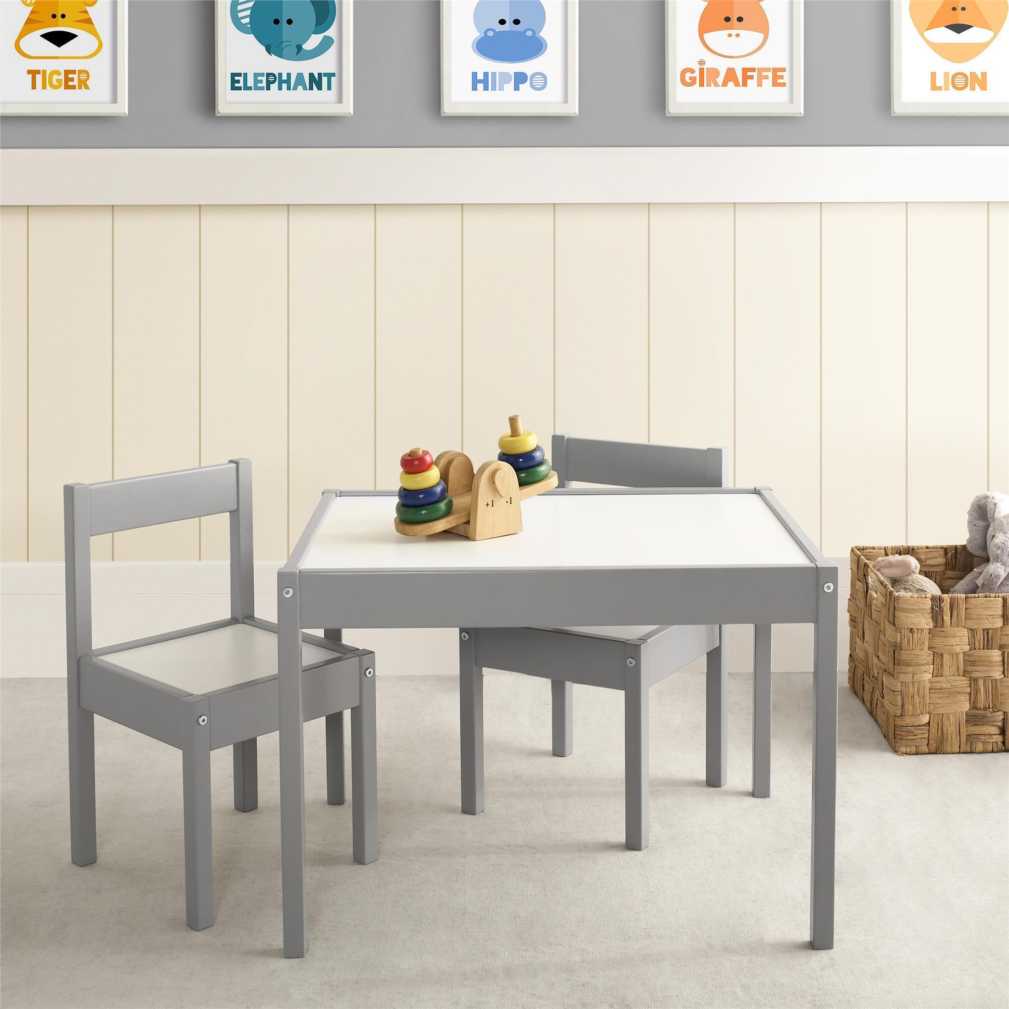 Avenue Greene Dreama 3 Pc Kiddy Table & Chair Set With Most Up To Date Springfield 3 Piece Dining Sets (View 17 of 20)