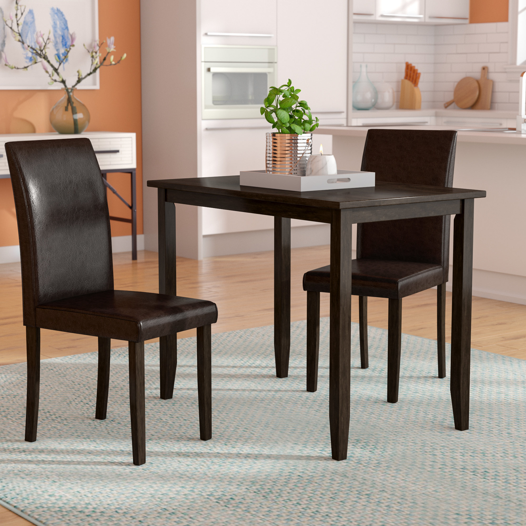 Featured Image of Baillie 3 Piece Dining Sets