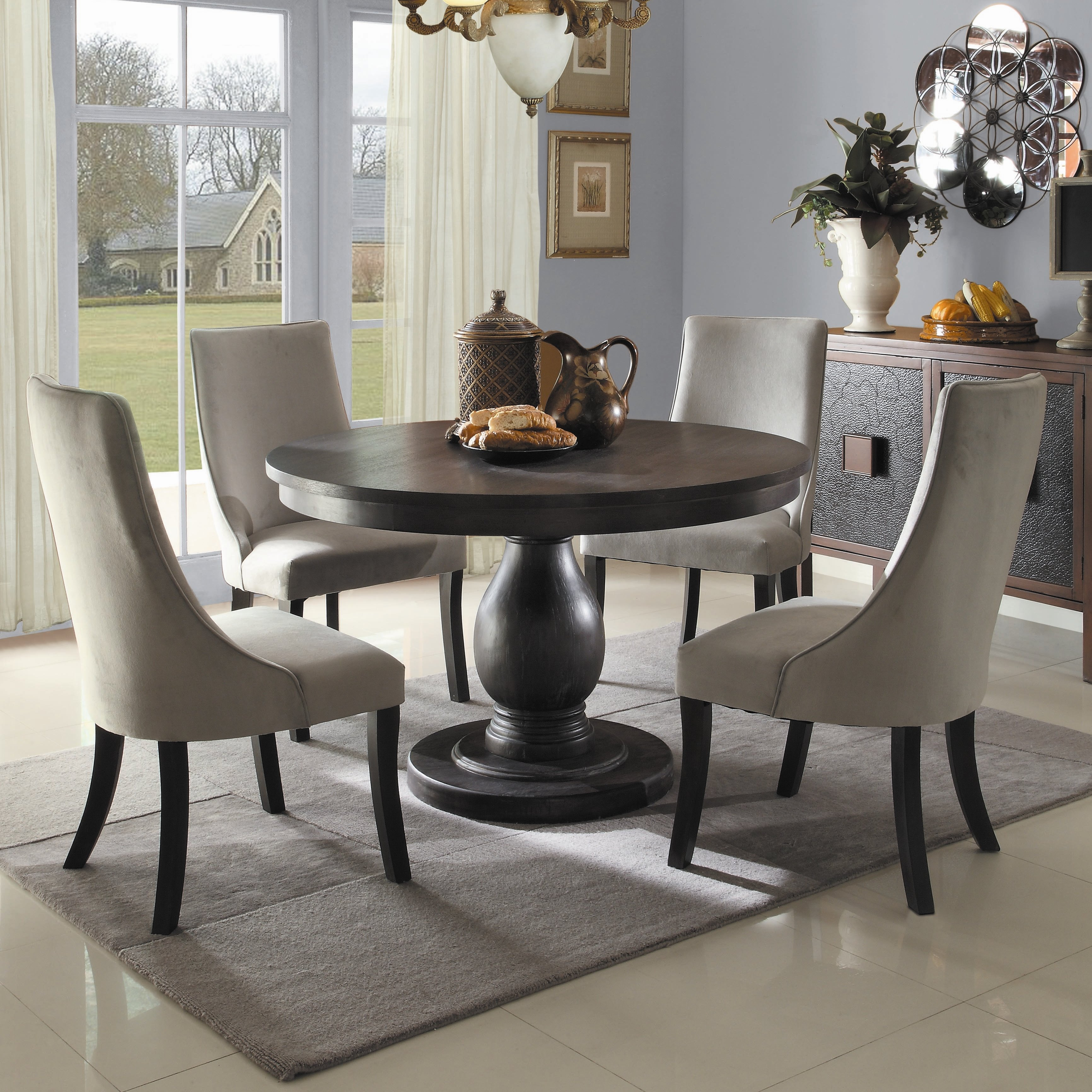 Barrington 5 Piece Dining Set With Best And Newest 5 Piece Dining Sets (View 16 of 20)