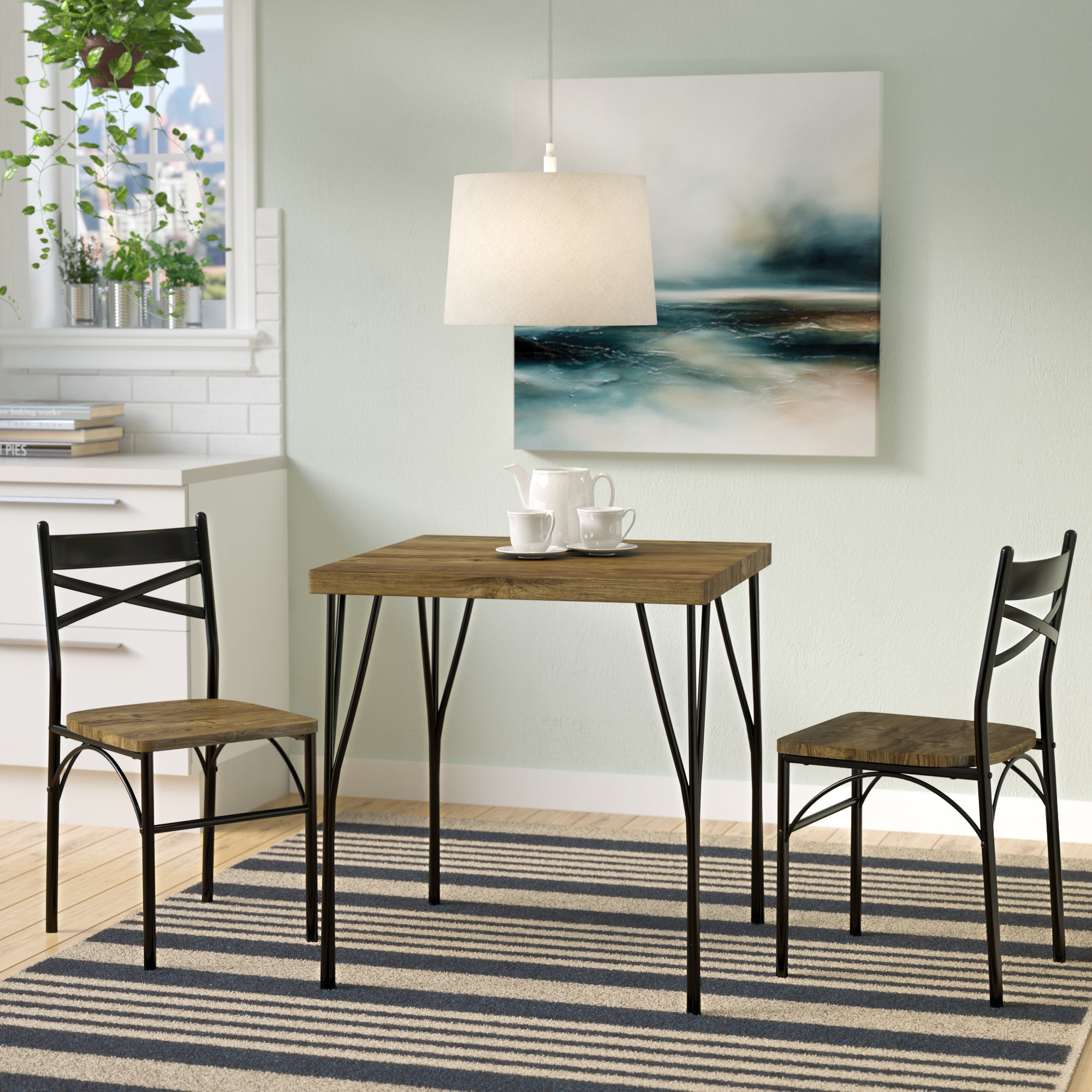 Featured Image of Bedfo 3 Piece Dining Sets
