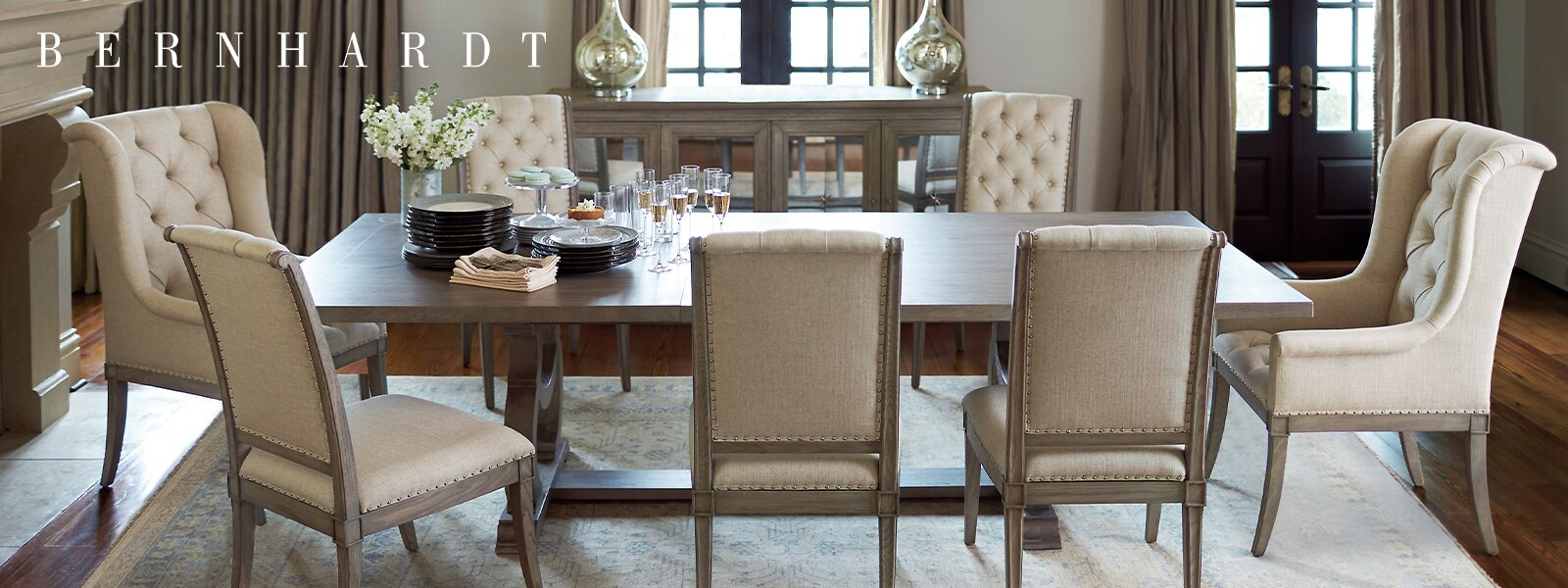 Bernhardt | Wayfair Within Current Tarleton 5 Piece Dining Sets (View 17 of 20)