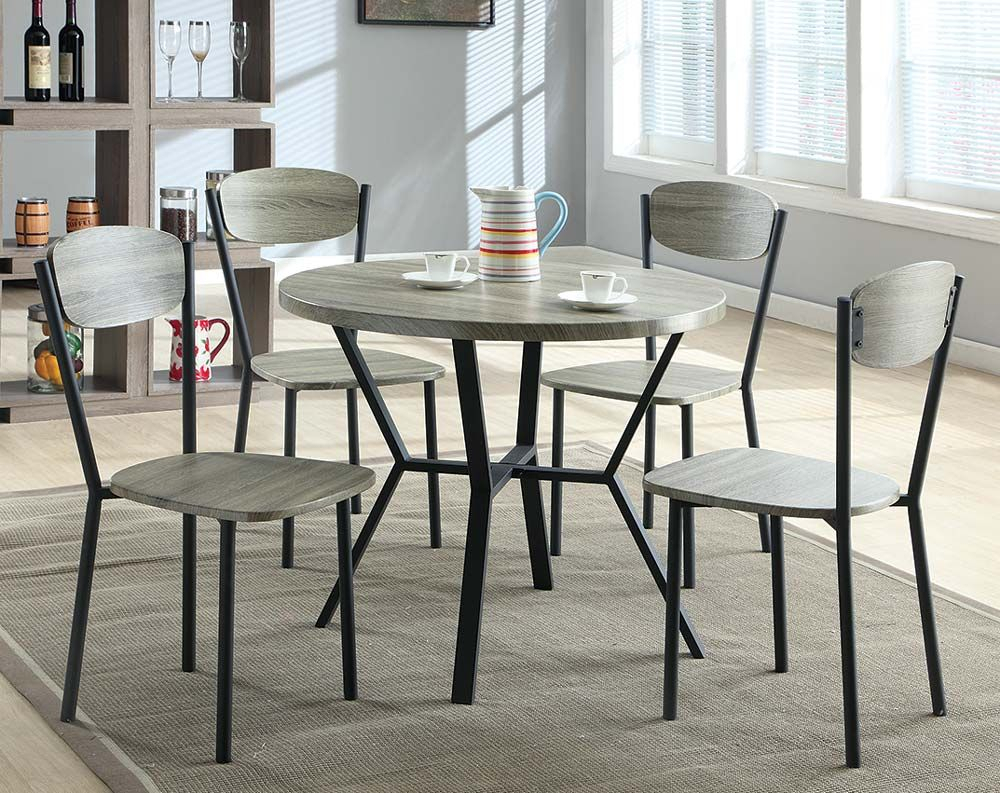 "Blake 5 Piece Dinette Set $188 American Freight 36"" Table 