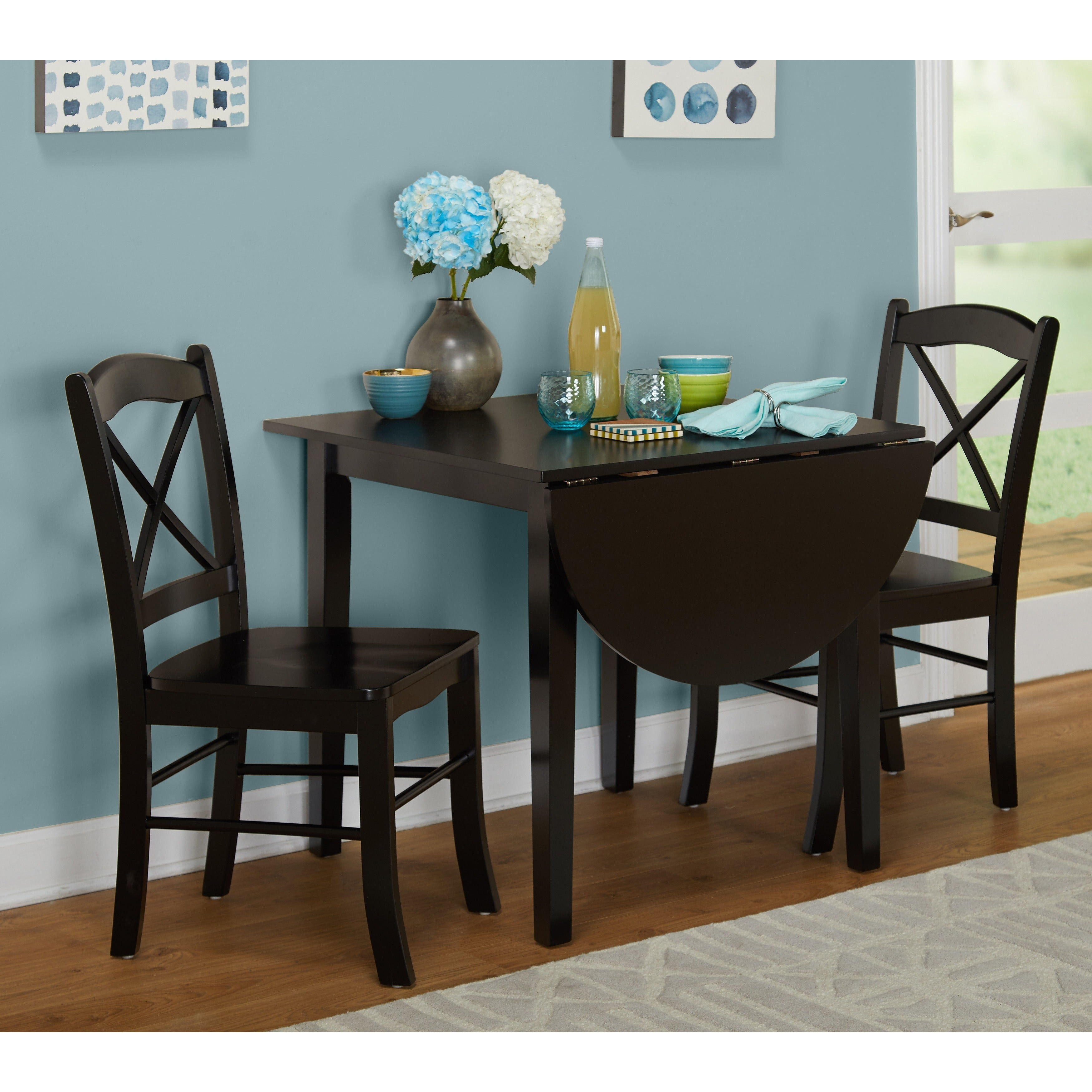 Buy 3 Piece Sets Kitchen & Dining Room Sets Online At Overstock Regarding 2017 Rossiter 3 Piece Dining Sets (Image 4 of 20)