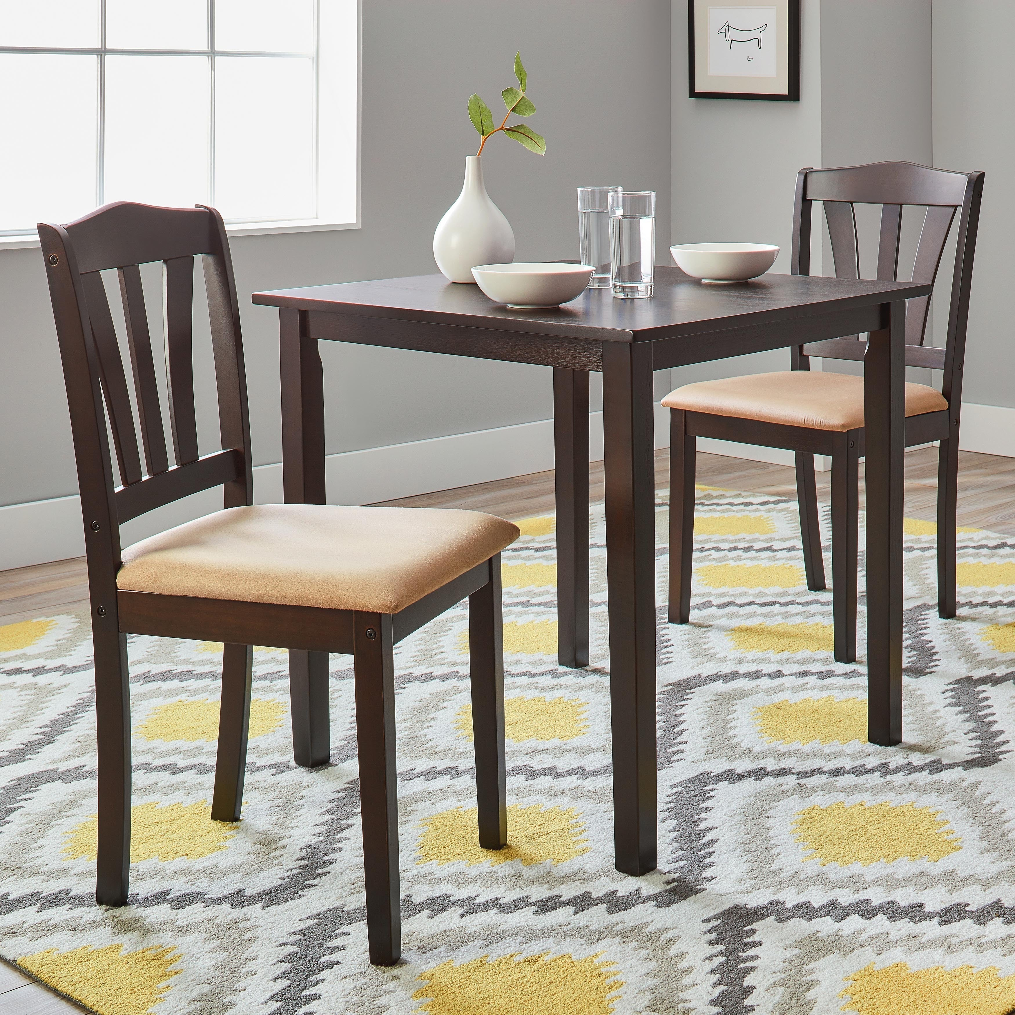 Buy 3 Piece Sets Kitchen & Dining Room Sets Online At Overstock Regarding Most Up To Date Bedfo 3 Piece Dining Sets (View 3 of 20)