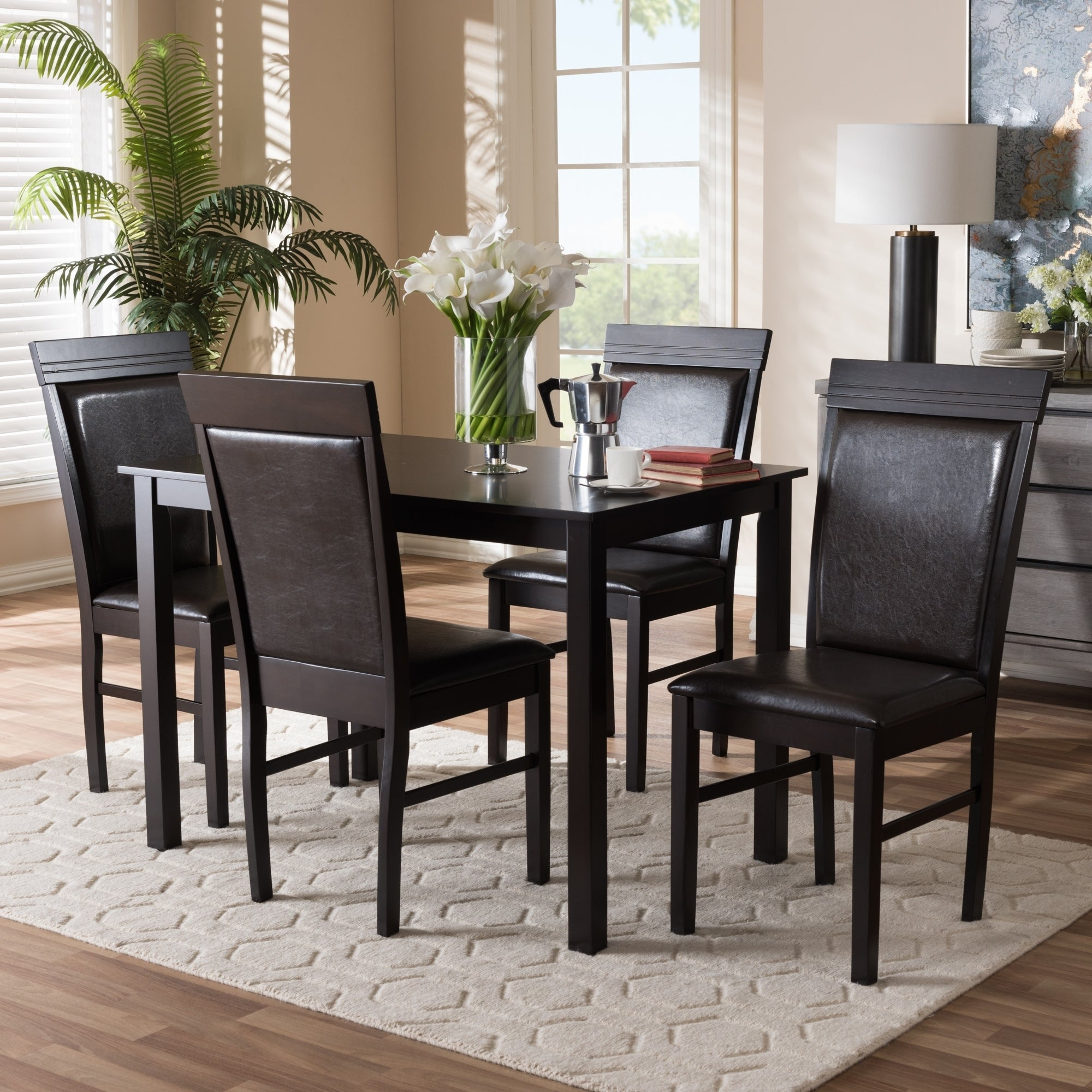 Buy 5 Piece Sets Kitchen & Dining Room Sets Online At Overstock In Current West Hill Family Table 3 Piece Dining Sets (View 5 of 20)
