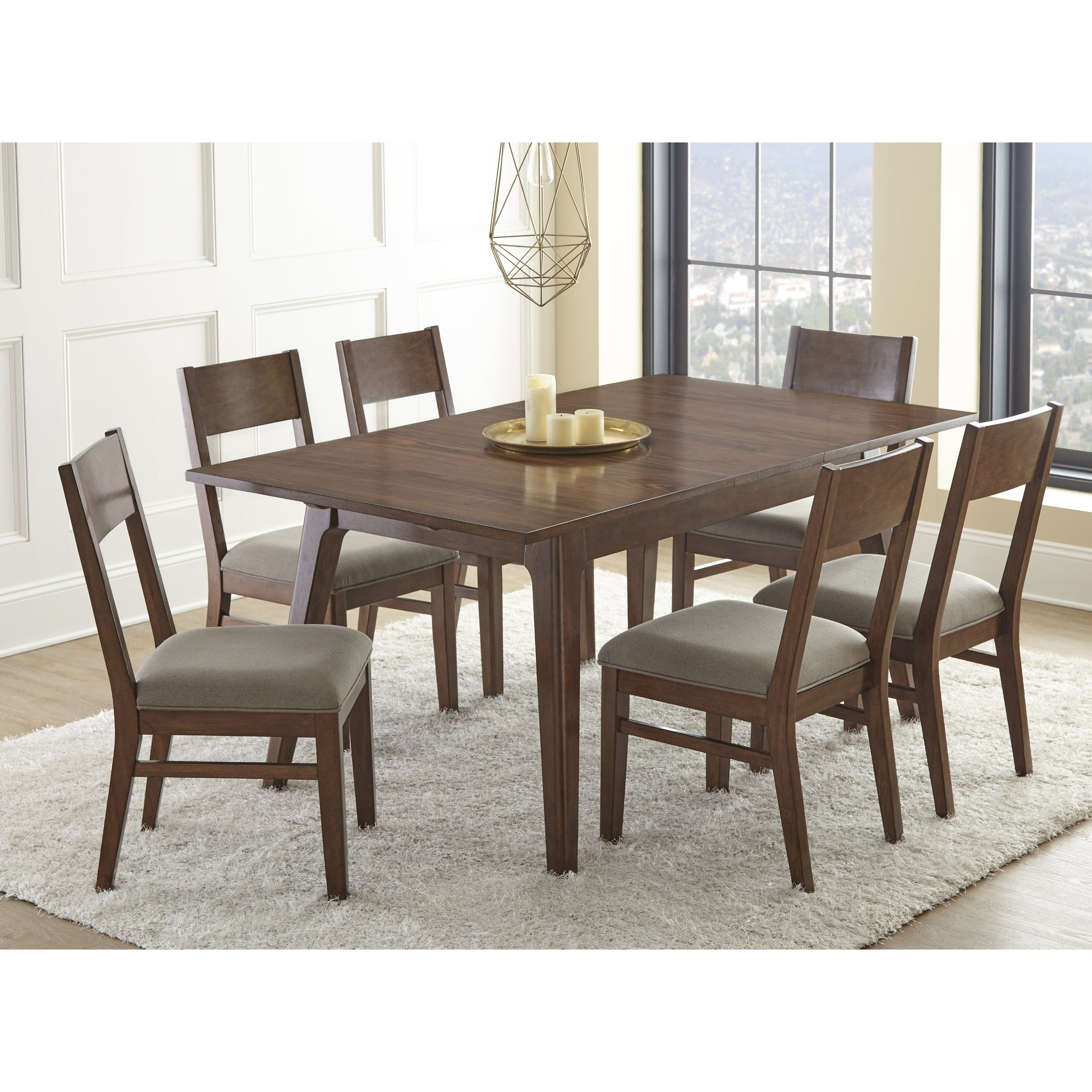 Buy 5 Piece Sets, Wood Kitchen & Dining Room Sets Online At Within Current Goodman 5 Piece Solid Wood Dining Sets (Set Of 5) (Image 4 of 20)