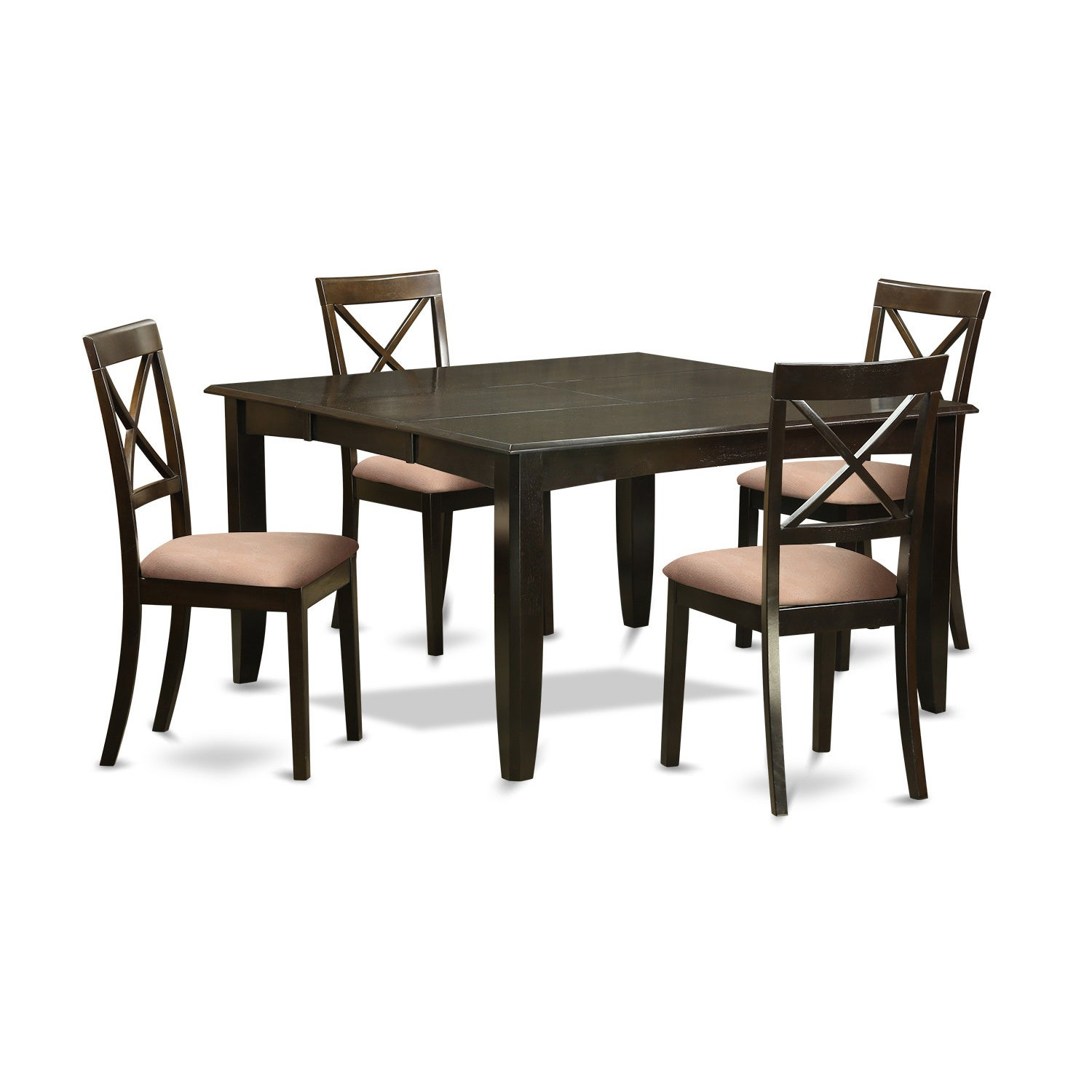 Buy 5 Piece Sets, Wood Kitchen & Dining Room Sets Online At Within Newest Goodman 5 Piece Solid Wood Dining Sets (Set Of 5) (Image 5 of 20)