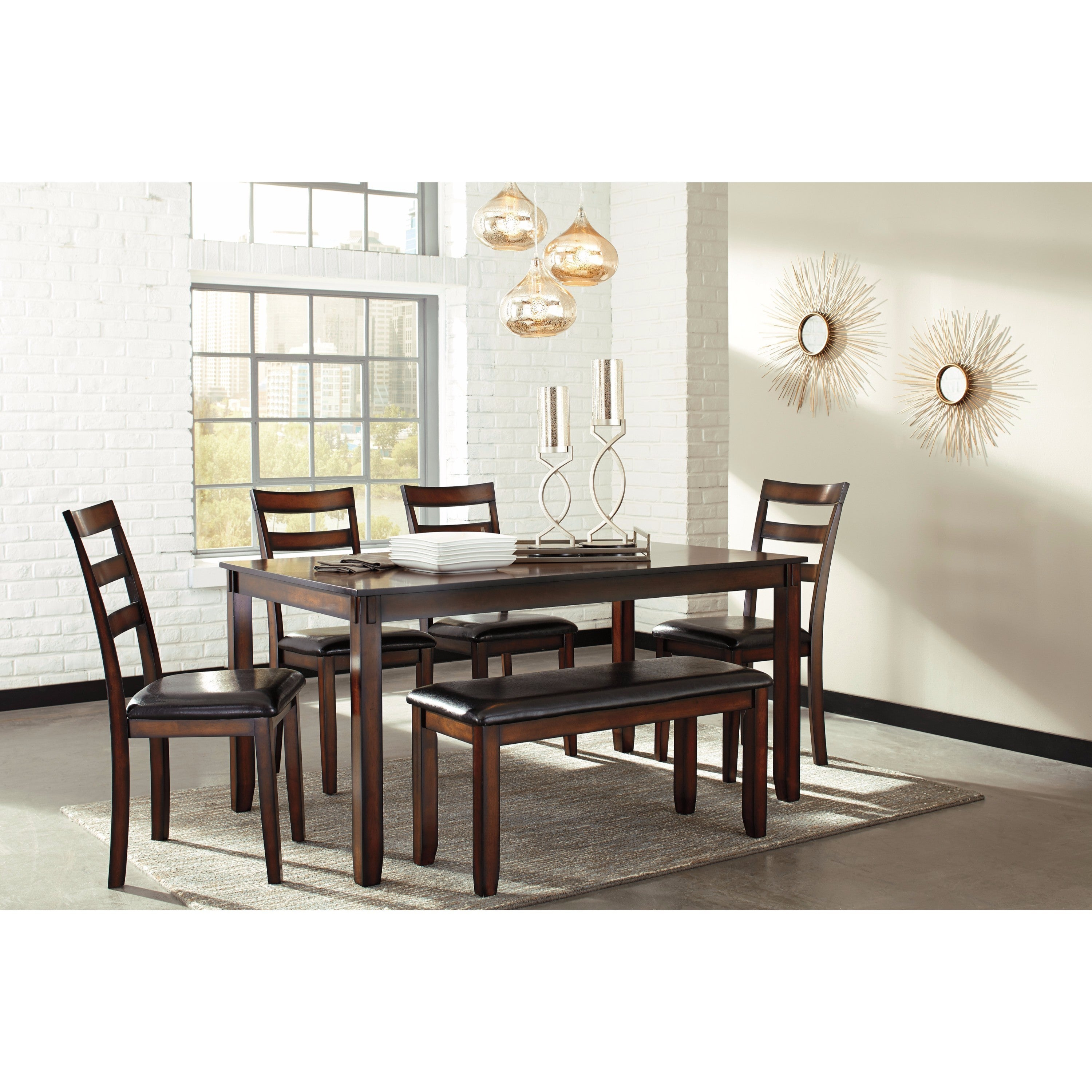 Buy 6 Piece Sets Kitchen & Dining Room Sets Online At Overstock In Current Osterman 6 Piece Extendable Dining Sets (Set Of 6) (Image 2 of 20)