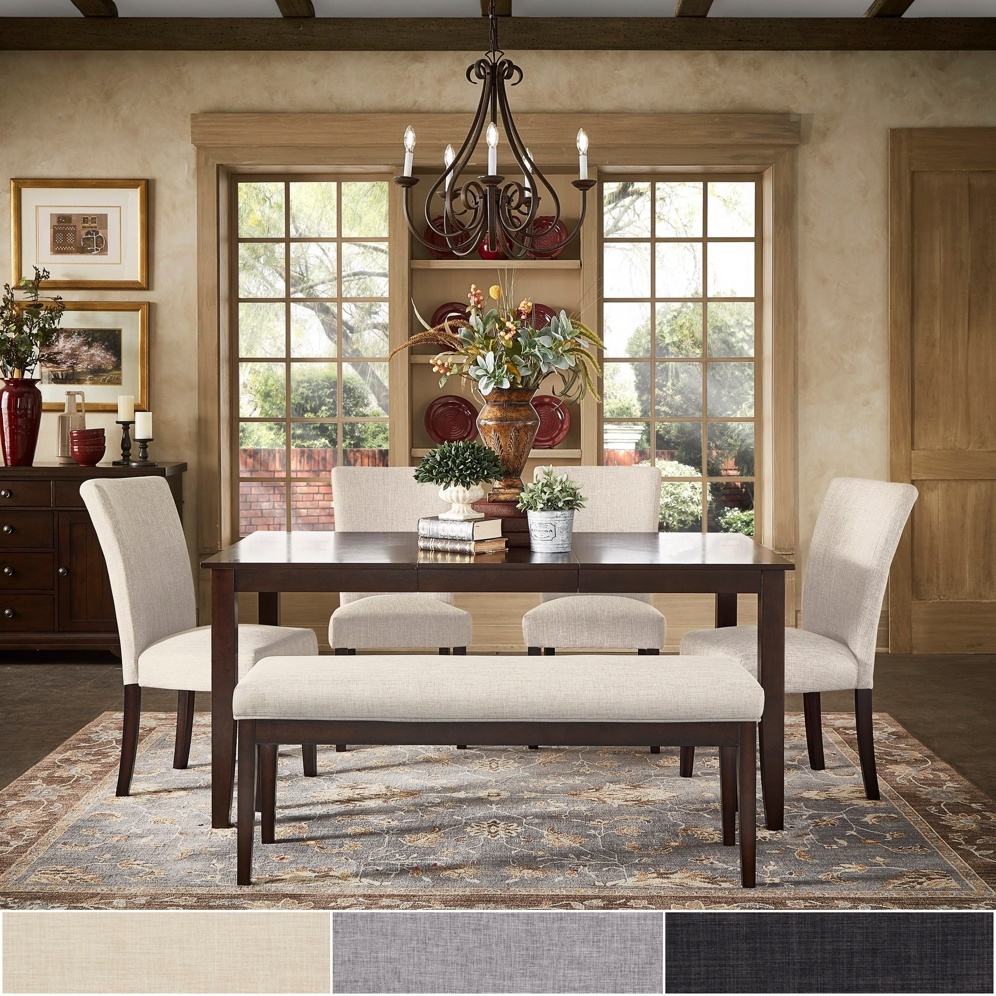 Buy 7 Piece Sets Kitchen & Dining Room Sets Online At Overstock Inside Most Current Autberry 5 Piece Dining Sets (Image 6 of 20)