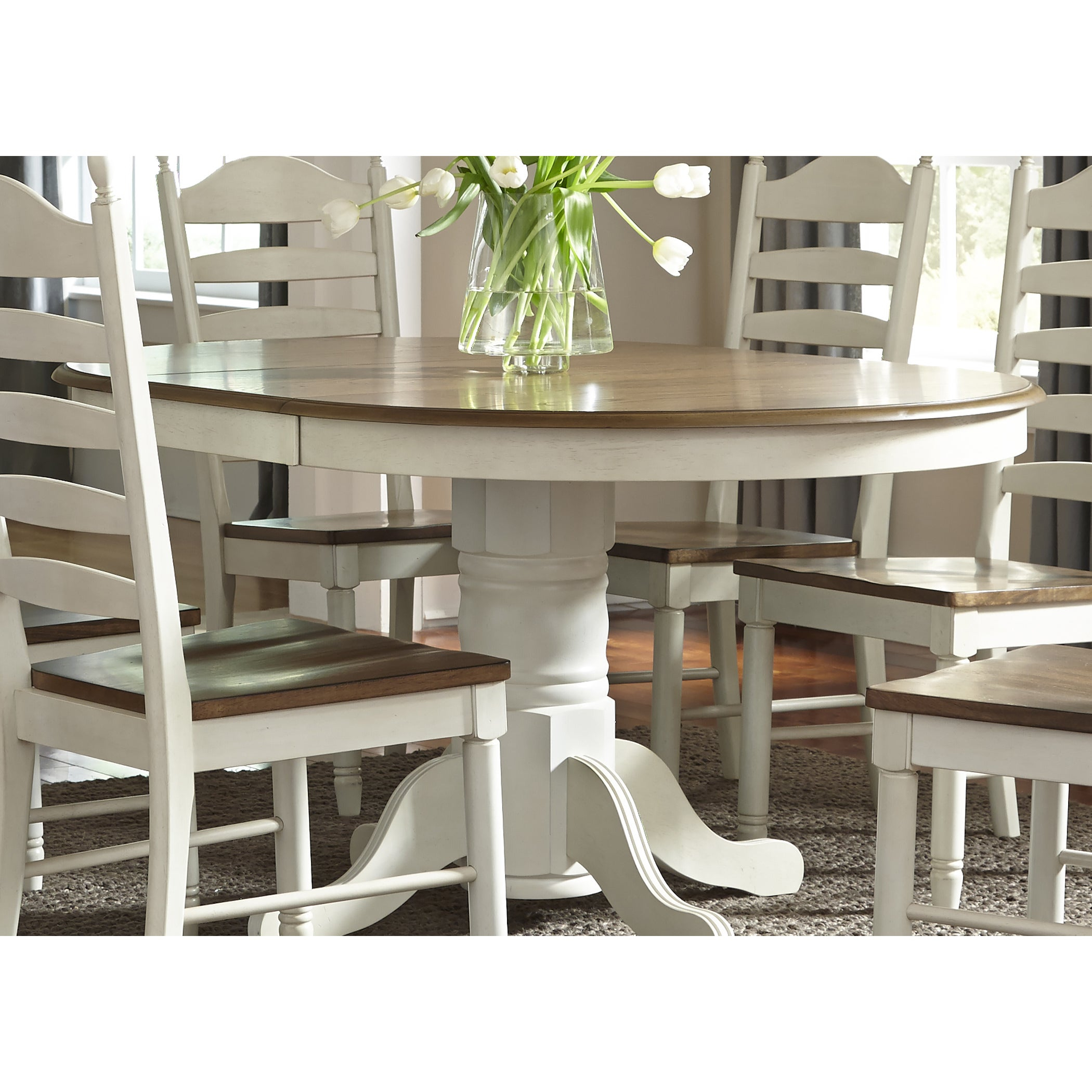 Buy Oval Kitchen & Dining Room Tables Online At Overstock | Our Best For Recent Cincinnati 3 Piece Dining Sets (View 7 of 20)