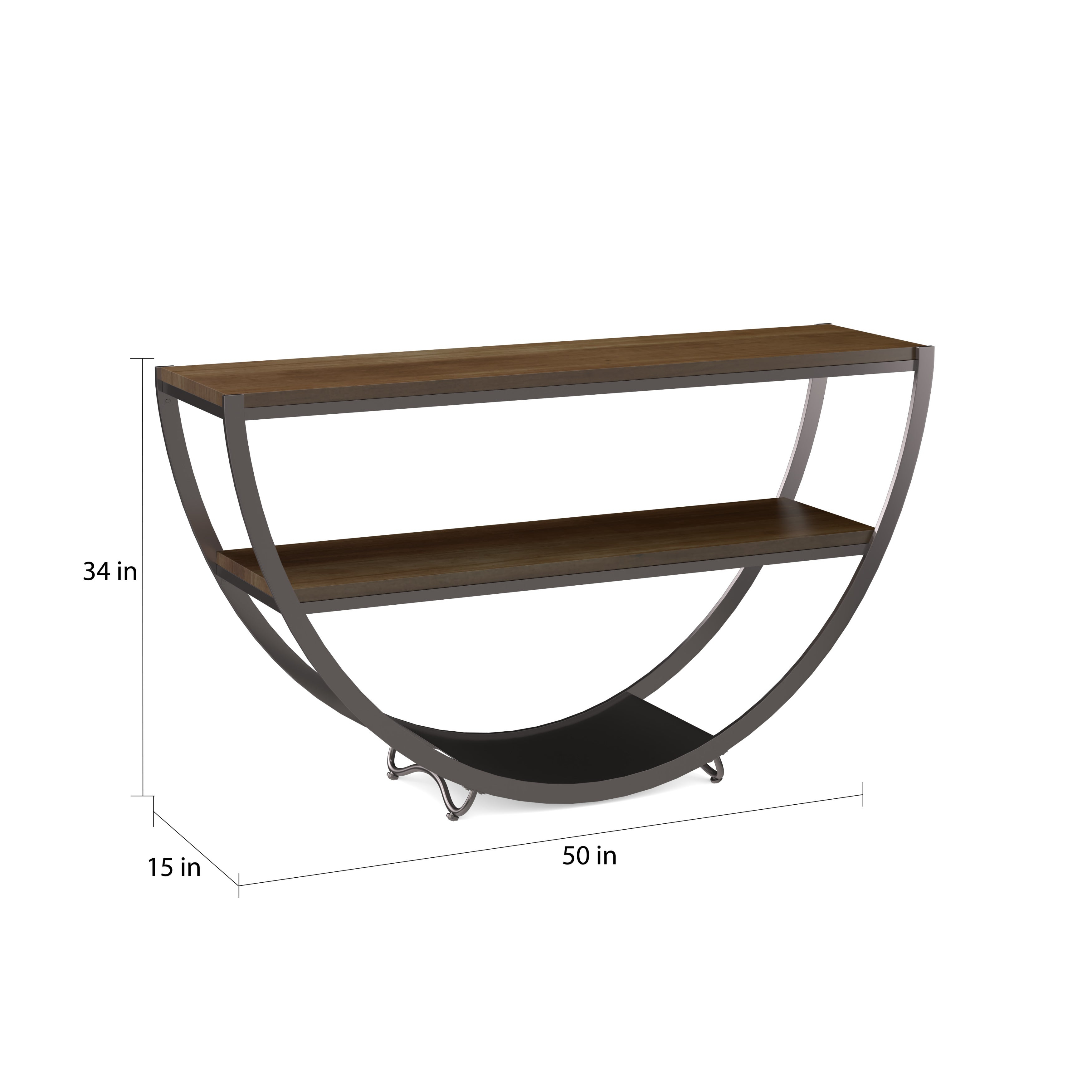 Carbon Loft Cohn Vintage Industrial Console Table In 2018 Presson 3 Piece Counter Height Dining Sets (Photo 12 of 20)