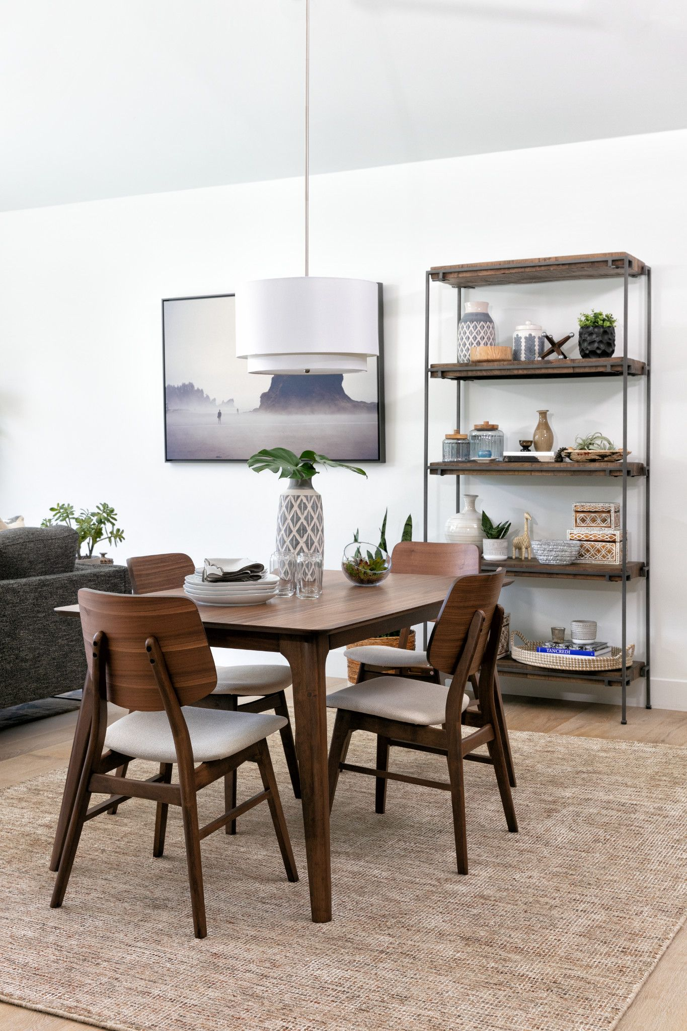 Carly 5 Piece Rectangle Dining Set In 2019 | Small Space Living With Regard To Most Popular Telauges 5 Piece Dining Sets (Photo 4 of 20)