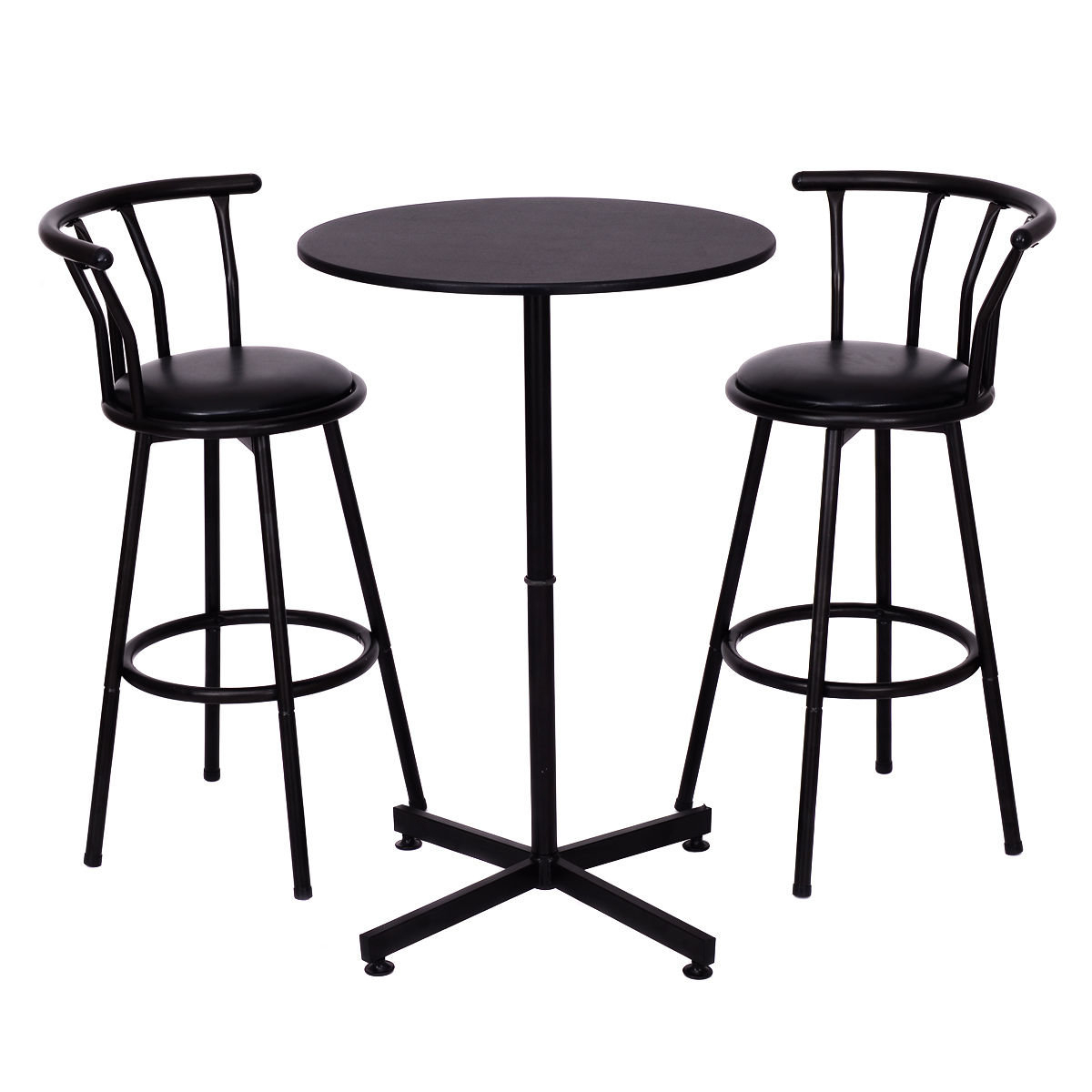 Caseville 3 Piece Pub Table Set Intended For Most Popular Saintcroix 3 Piece Dining Sets (View 7 of 20)
