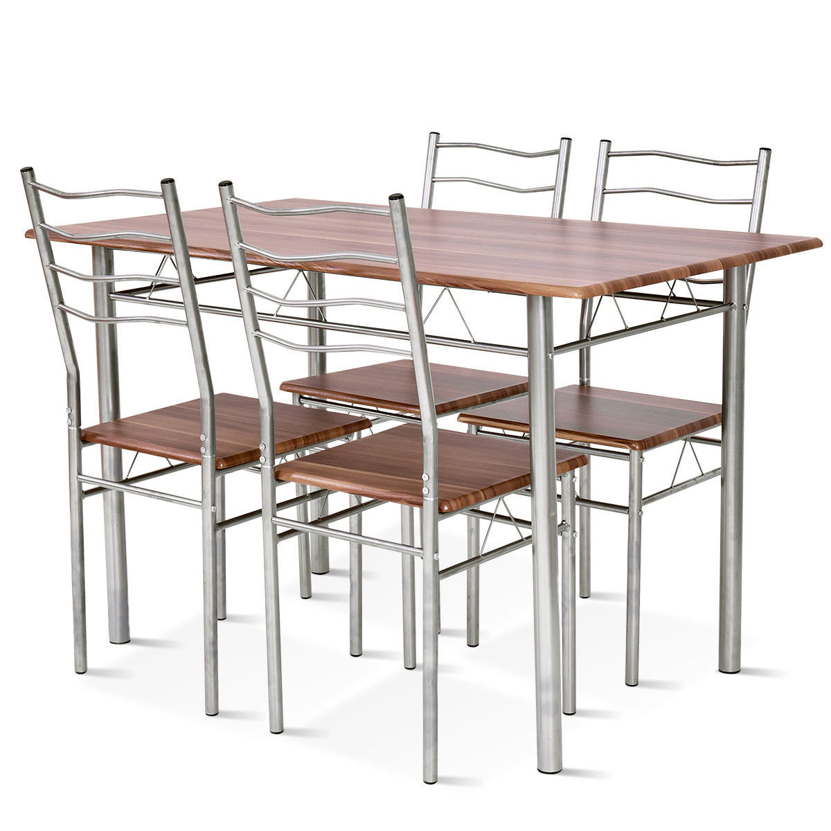 Casiano 5 Piece Dining Set Intended For Latest Mulvey 5 Piece Dining Sets (Image 2 of 20)