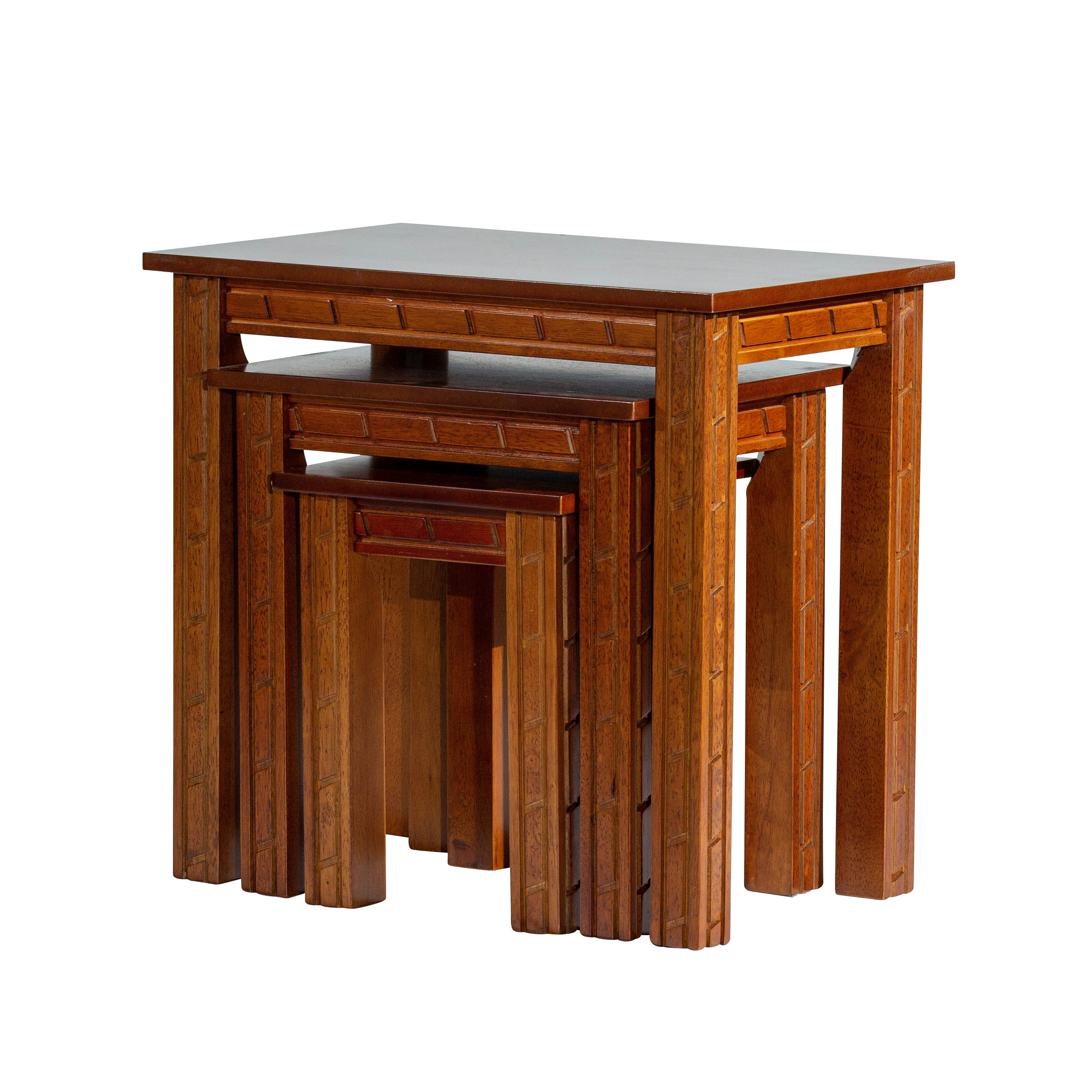 Castellanos Furniture 3 Piece Nesting Tables Pertaining To Latest Castellanos Modern 5 Piece Counter Height Dining Sets (Photo 13 of 20)