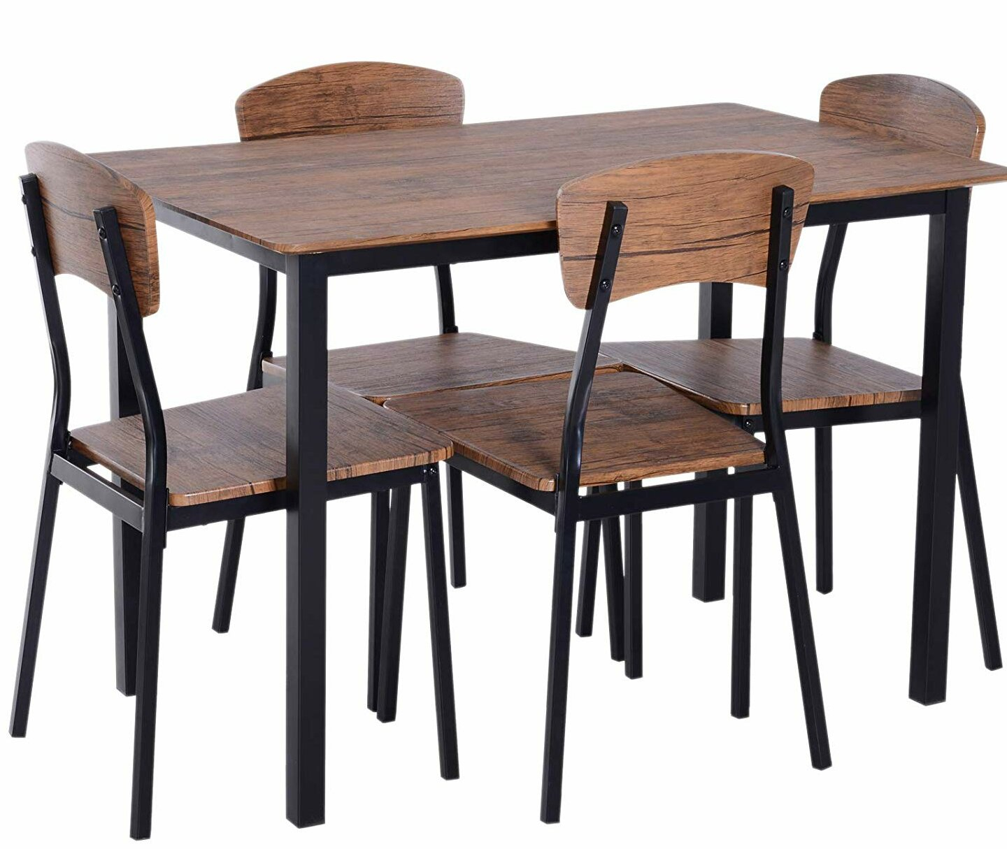 Castellanos Modern 5 Piece Counter Height Dining Set With Regard To Most Popular Shepparton Vintage 3 Piece Dining Sets (Photo 13 of 20)