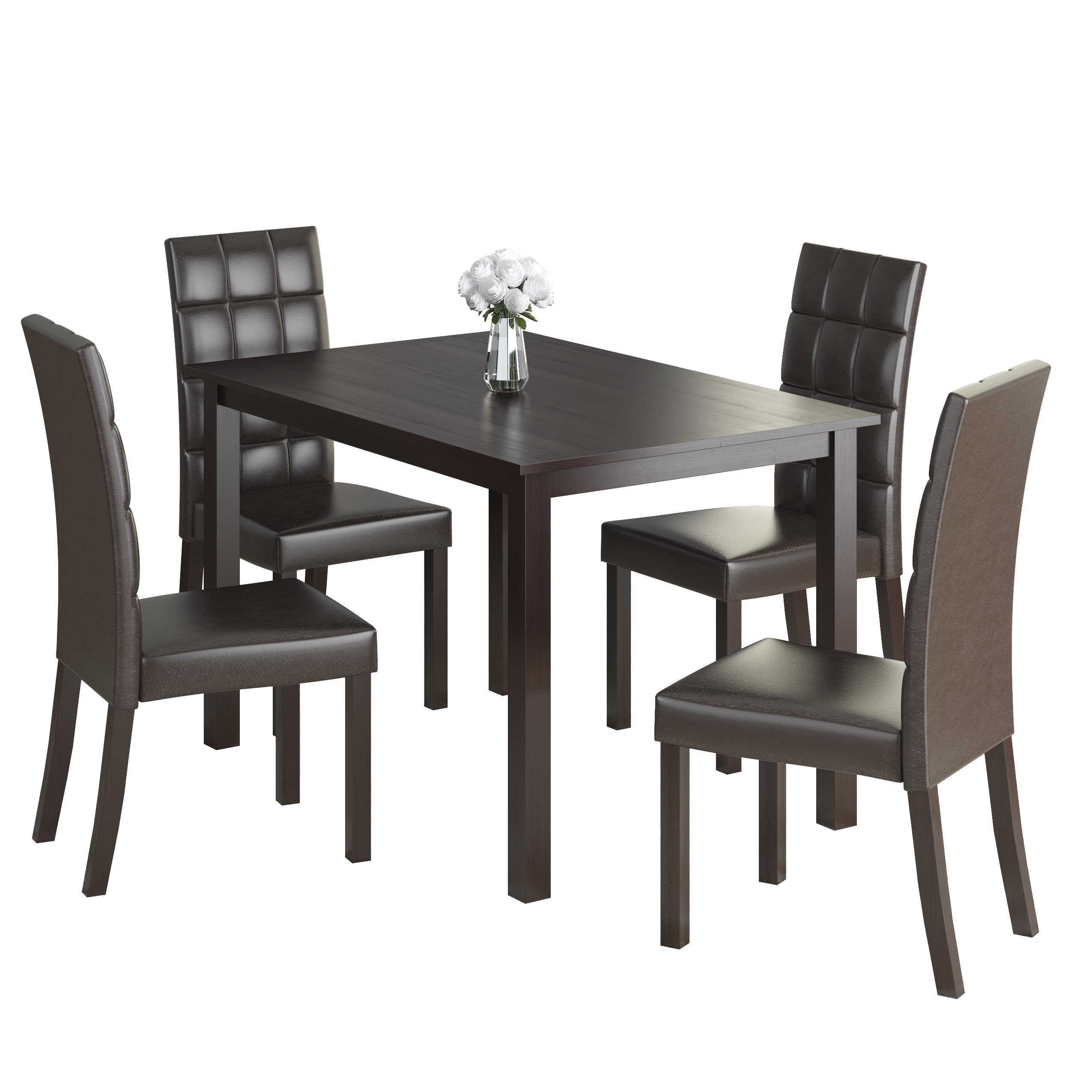 Cesar 5 Piece Dining Set With Regard To Most Recently Released Kieffer 5 Piece Dining Sets (Photo 20 of 20)