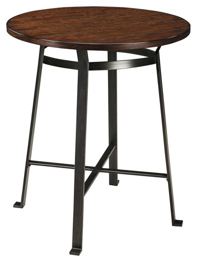 Challiman – Round Drm Counter Table For 2017 Tappahannock 3 Piece Counter Height Dining Sets (Photo 12 of 20)