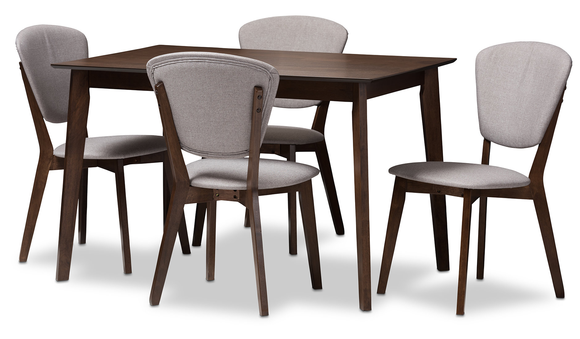 Chaparro 5 Piece Dining Set Within Most Up To Date Kerley 4 Piece Dining Sets (Image 5 of 20)