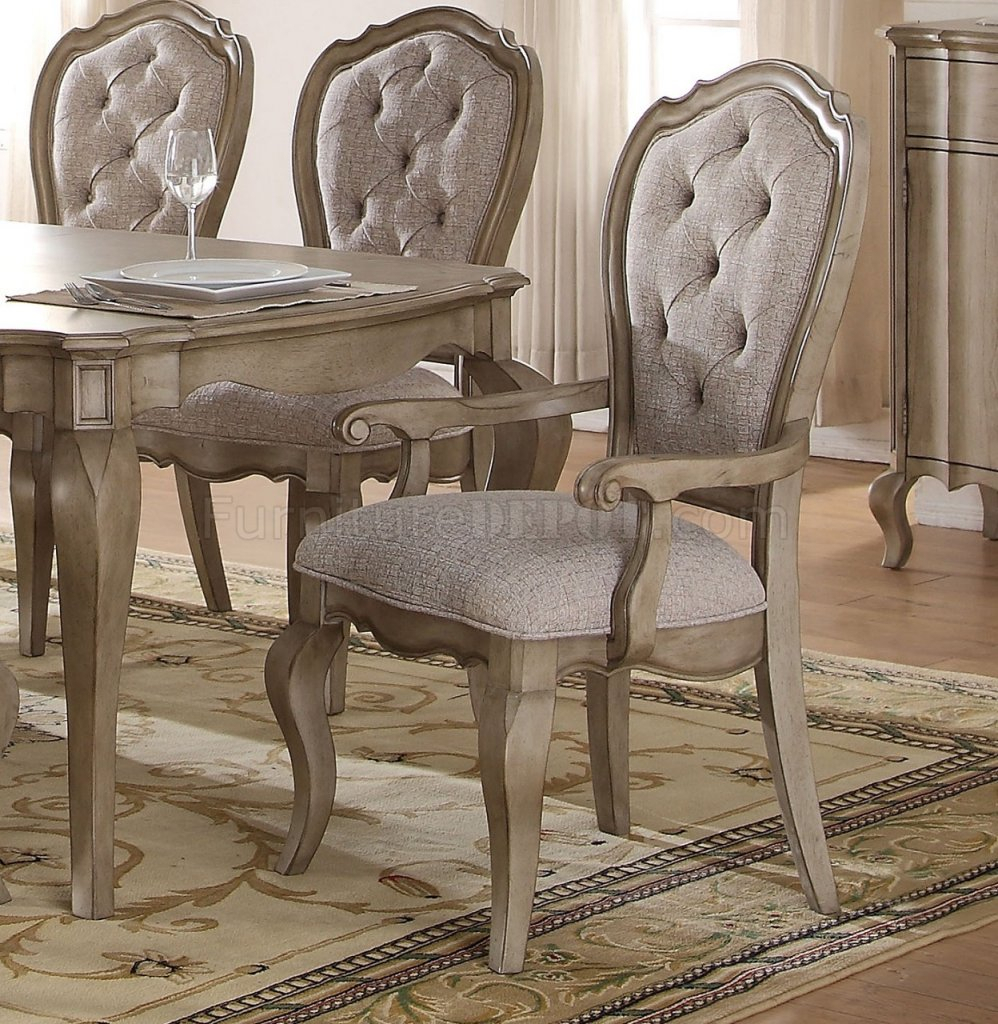 Chelmsford 66050 Dining Table In Antique Taupeacme W/options For 2018 Chelmsford 3 Piece Dining Sets (Photo 9 of 20)