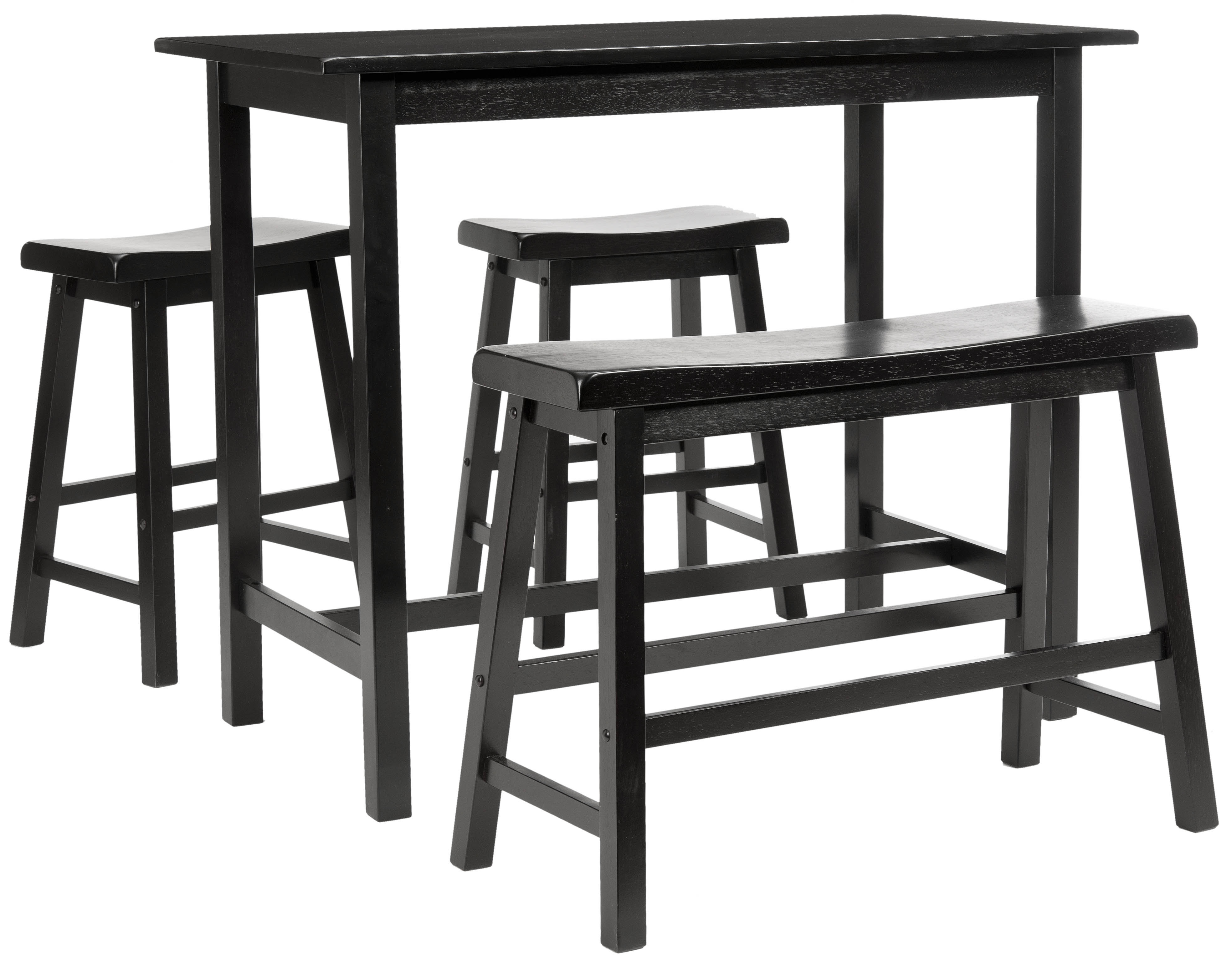 Chelsey 4 Piece Dining Set & Reviews | Allmodern Within Most Recently Released Ryker 3 Piece Dining Sets (Photo 15 of 20)
