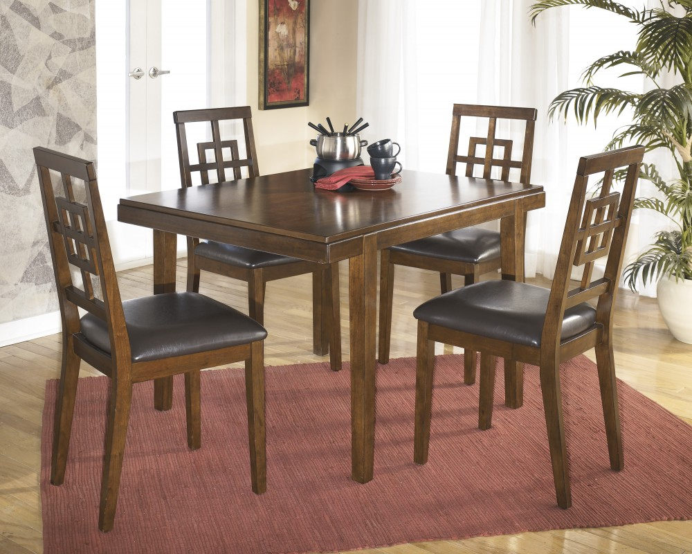 Cimeran Rectangular Table & 4 Side Chairs For Most Recently Released Linette 5 Piece Dining Table Sets (Photo 16 of 20)