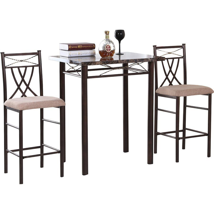 Cincinnati 3 Piece Dining Set | Dining Table | 3 Piece Dining Set Pertaining To Most Up To Date Cincinnati 3 Piece Dining Sets (Photo 2 of 20)