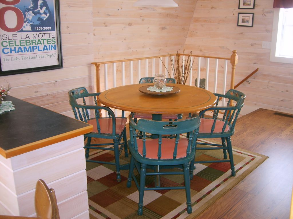 Classic Carriage Barn On The West Shore Of Historic Isle Lamotte – Isle La  Motte Throughout Current Lamotte 5 Piece Dining Sets (Image 5 of 20)