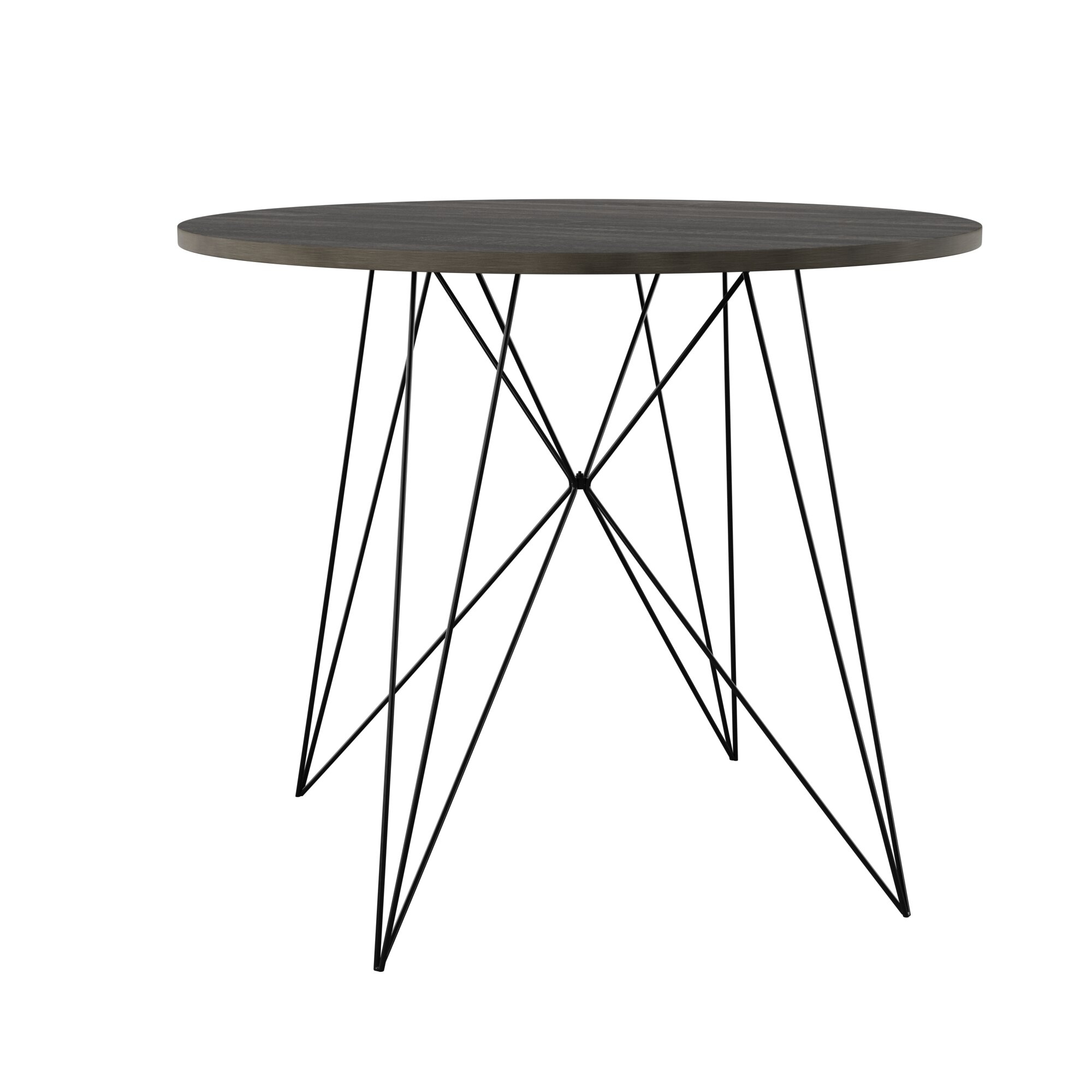 Clower Dining Table For Most Up To Date Denzel 5 Piece Counter Height Breakfast Nook Dining Sets (Image 6 of 20)