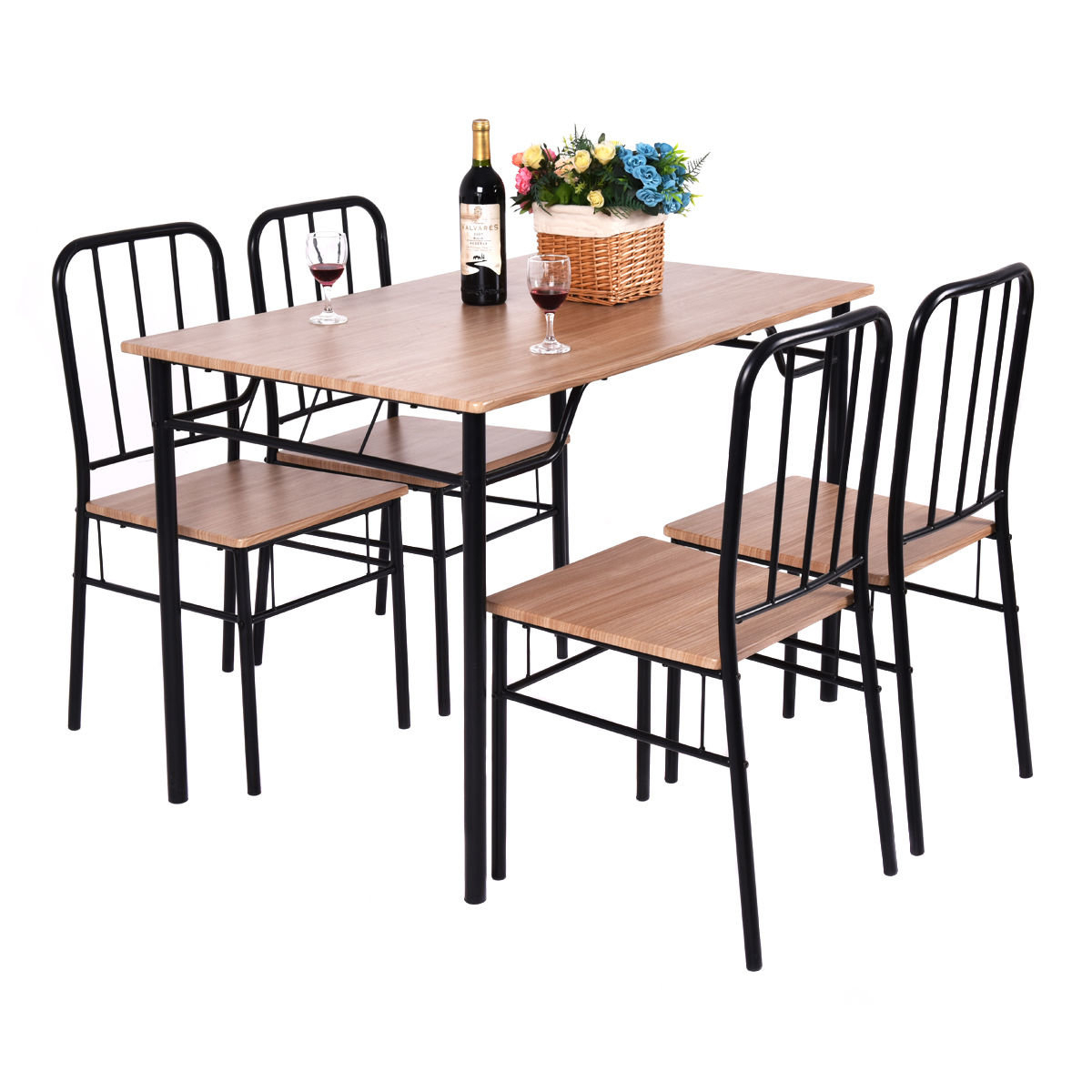 Conover 5 Piece Dining Set Regarding Most Popular Kaelin 5 Piece Dining Sets (View 3 of 20)