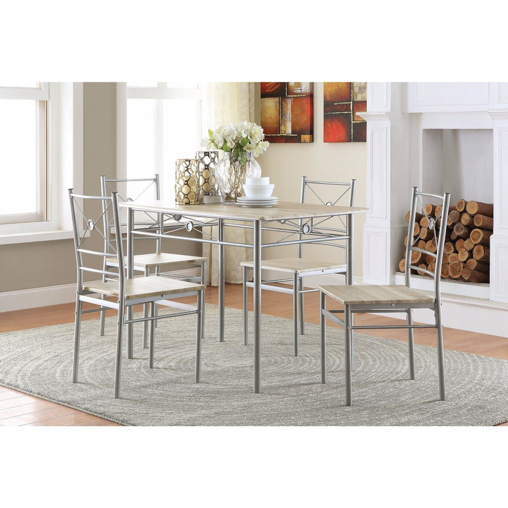 Constandache 5 Piece Dining Set Throughout Current Stouferberg 5 Piece Dining Sets (Photo 1 of 20)