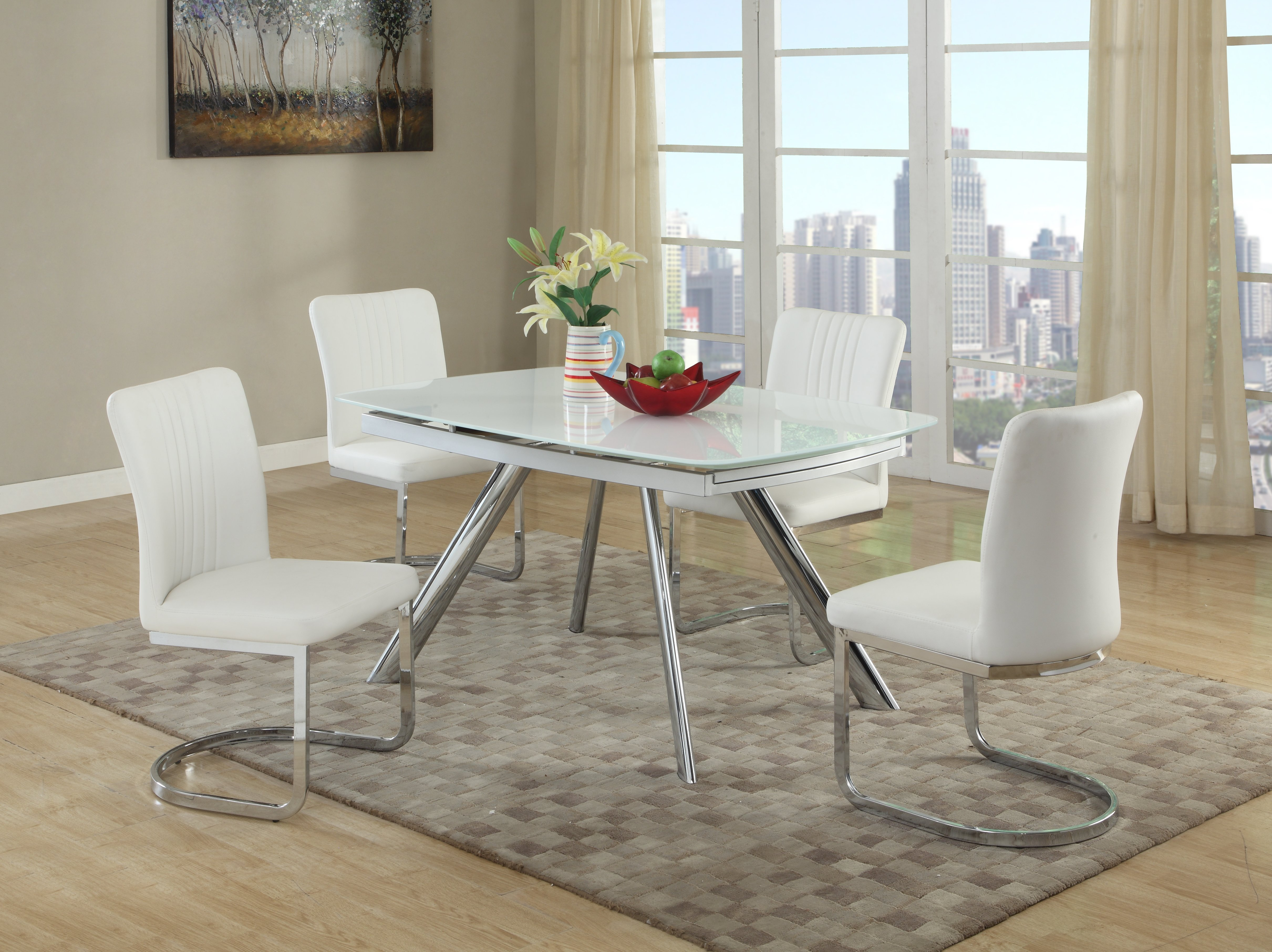 Deann 5 Piece Dining Set Inside Most Recent Linette 5 Piece Dining Table Sets (View 2 of 20)