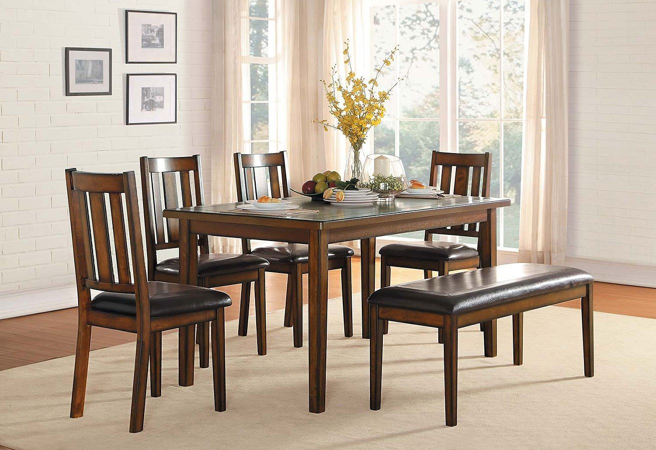 Delmar 6 Piece Dining Room Set Inside Current Delmar 5 Piece Dining Sets (Photo 16 of 20)