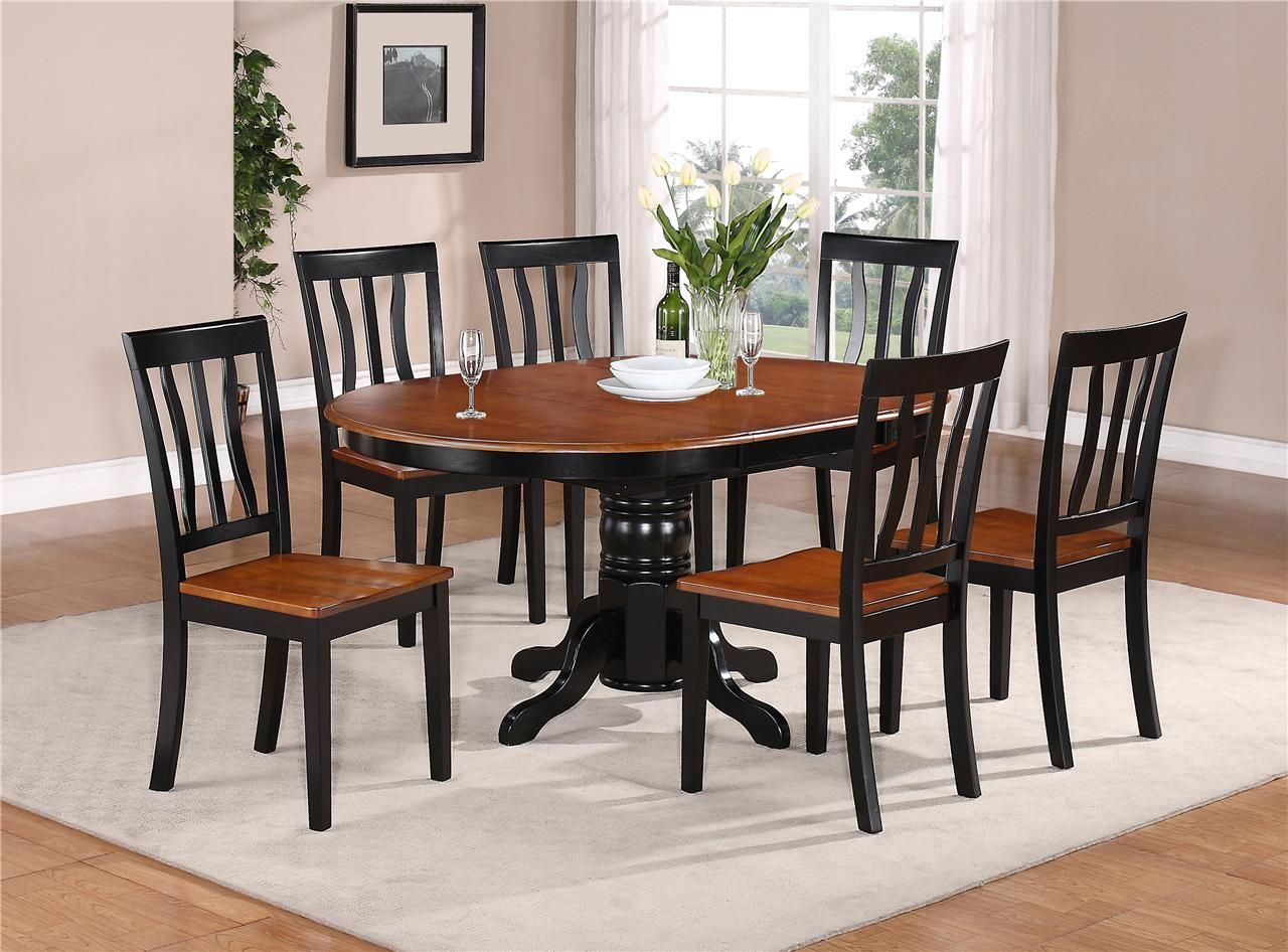 Details About 5 Pc Dinette Kitchen Dining Set Table With 4 Wood Seat Throughout Recent Smyrna 3 Piece Dining Sets (View 13 of 20)