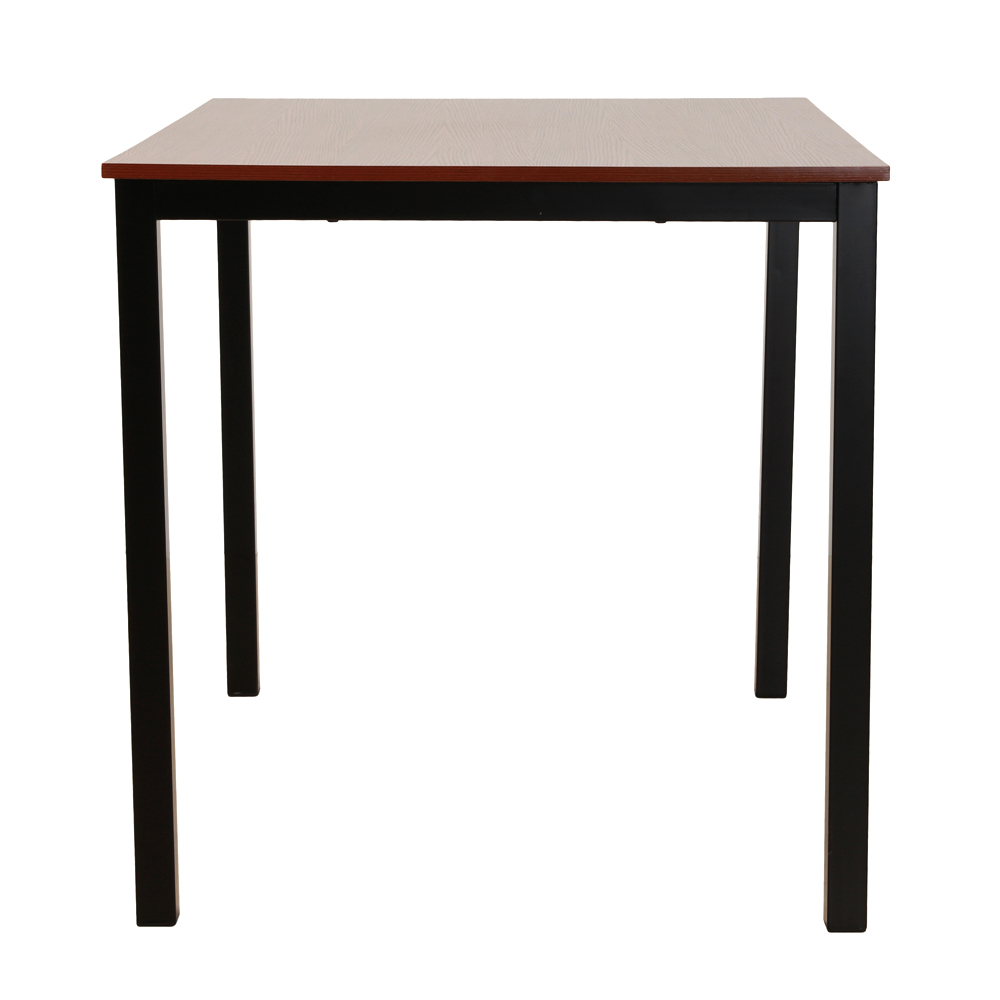 Details About Brown Dining Table Set 3 Piece Benches Breakfast Nook Steel  Frame Kitchen New In Most Recent Lillard 3 Piece Breakfast Nook Dining Sets (Image 5 of 20)