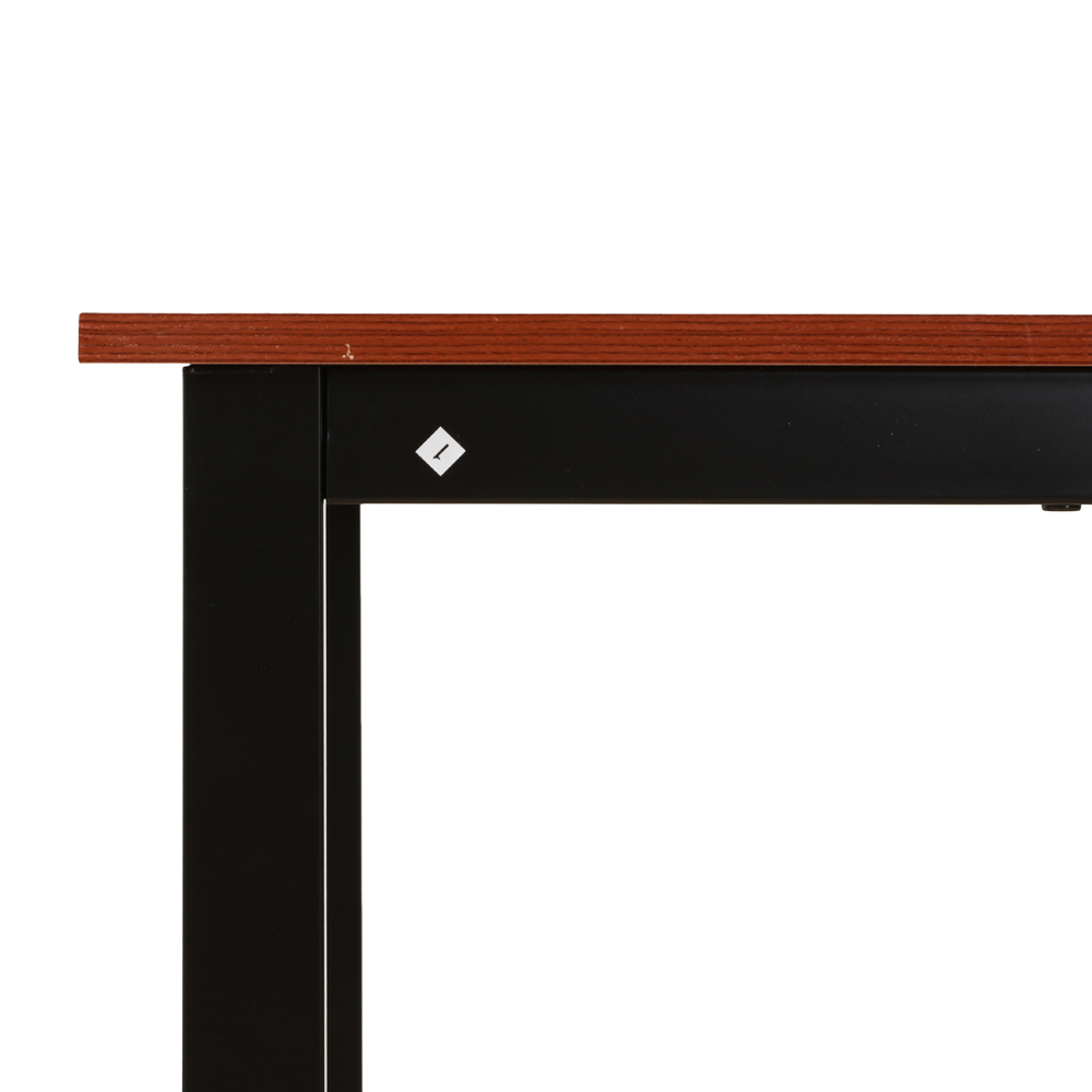Details About Brown Dining Table Set 3 Piece Benches Breakfast Nook Steel Frame Kitchen New Inside Latest Lillard 3 Piece Breakfast Nook Dining Sets (View 11 of 20)