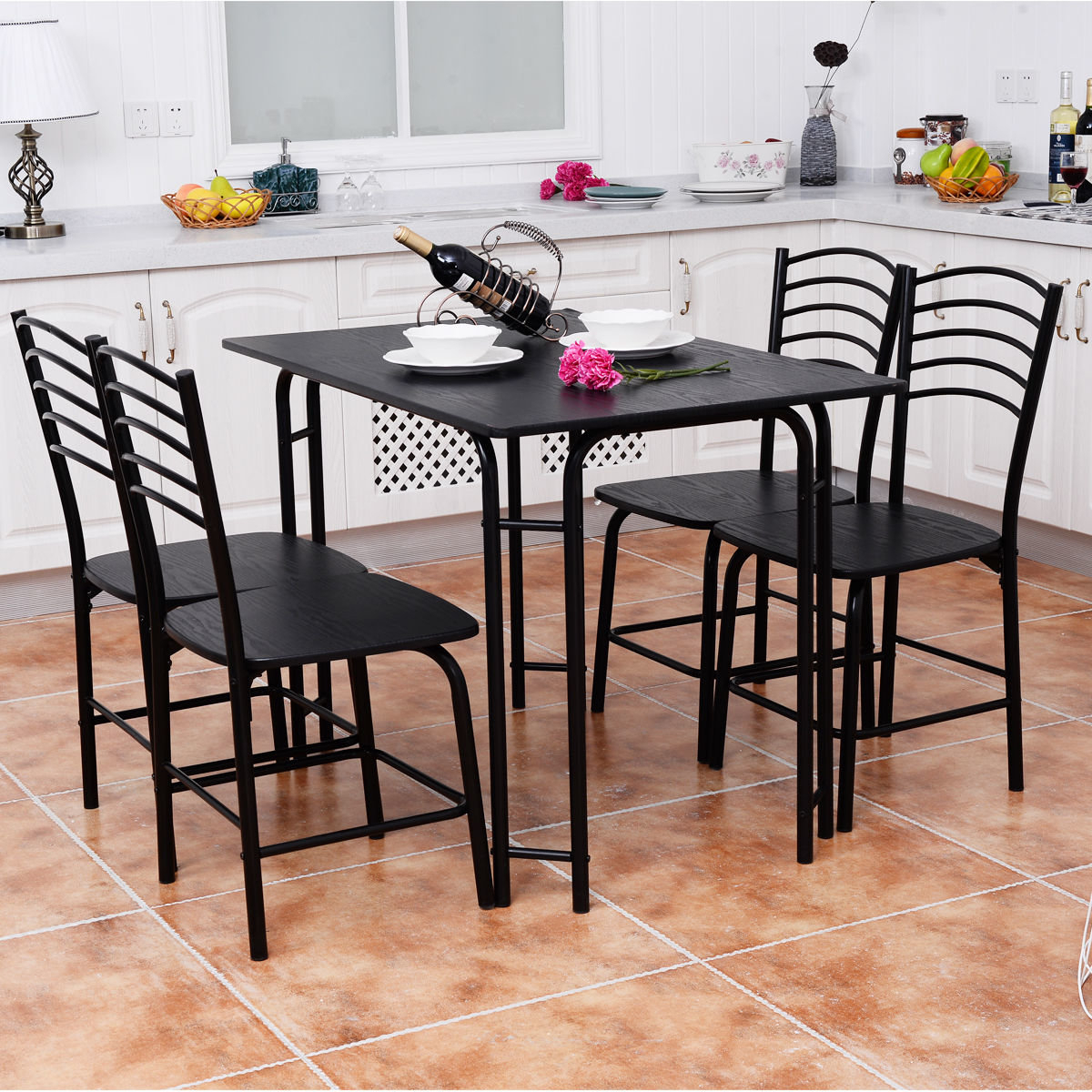 Details About Winston Porter Ephraim 5 Piece Dining Set With Most Current Ephraim 5 Piece Dining Sets (View 5 of 20)