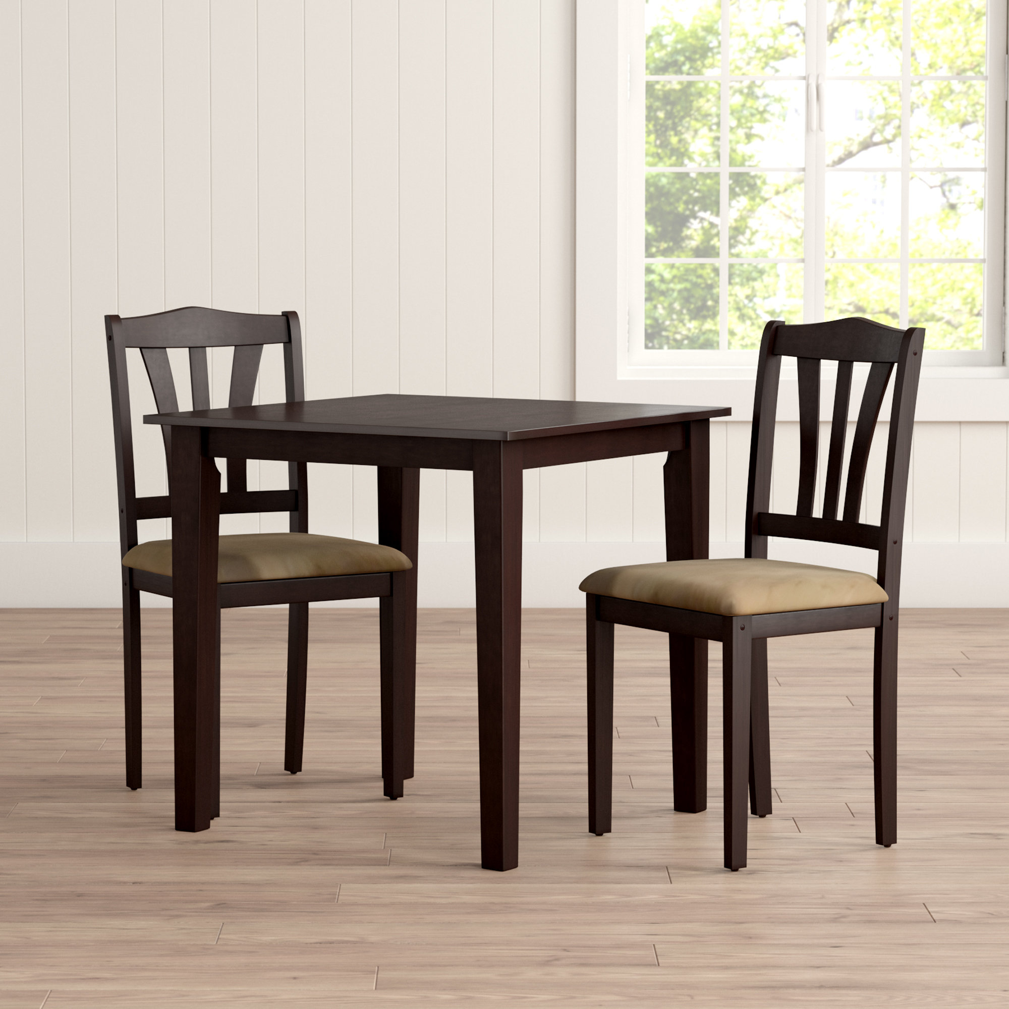 Dinah 3 Piece Dining Set In Most Popular Baillie 3 Piece Dining Sets (Image 7 of 20)