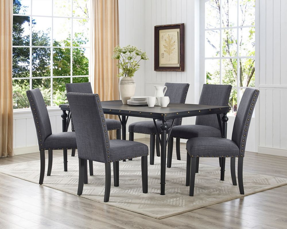 Dining Chairs | The Home Depot Canada In 2017 Evellen 5 Piece Solid Wood Dining Sets (Set Of 5) (View 10 of 20)