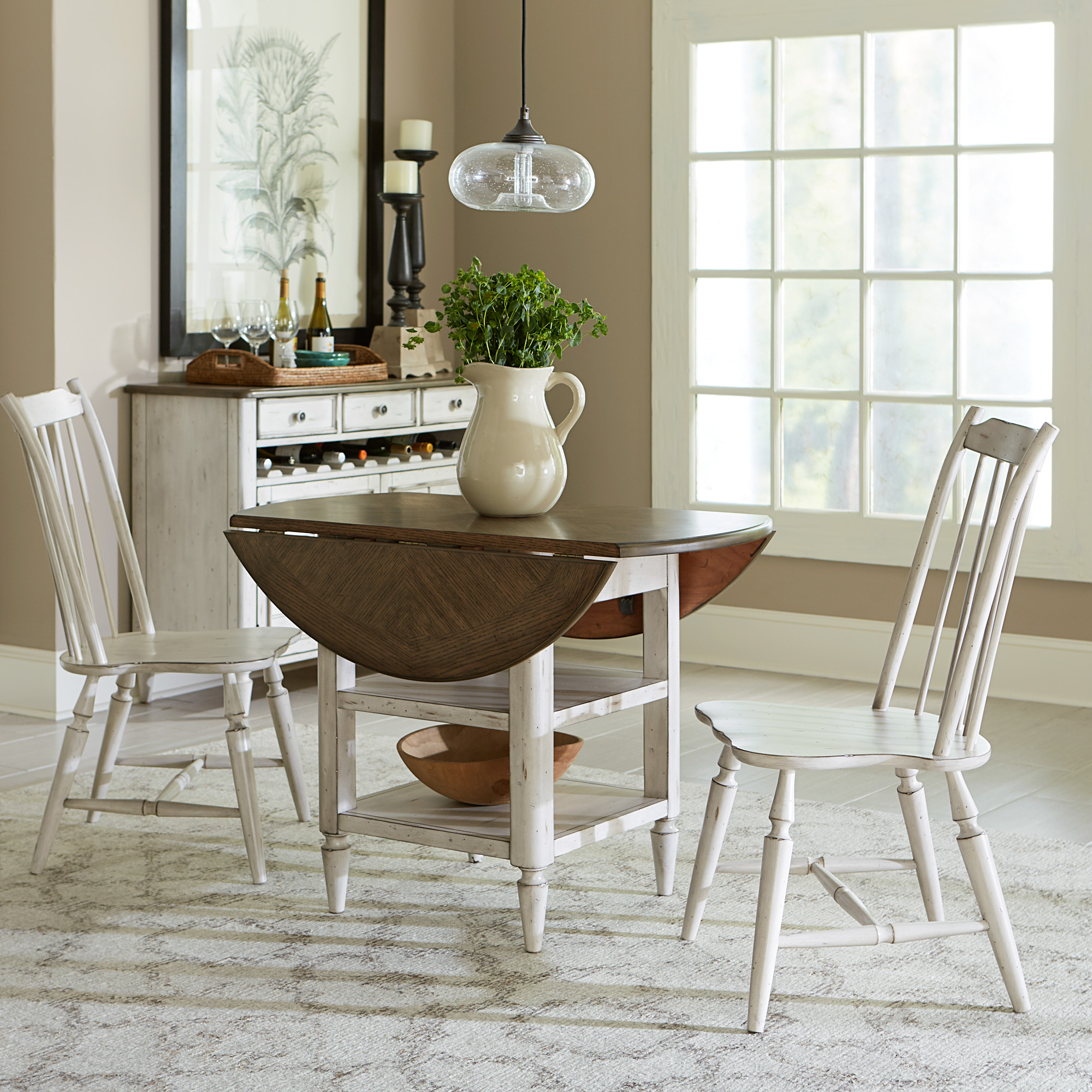 Dining Room Sets, Dining Room Furniture | Liberty Furniture Intended For Most Popular Springfield 3 Piece Dining Sets (Photo 4 of 20)