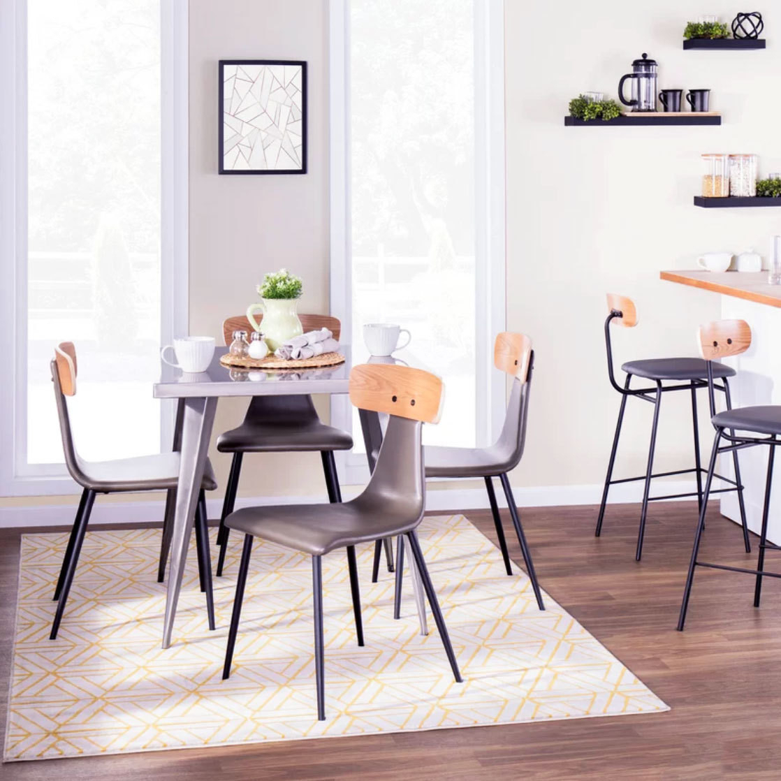 Dining Tables For Small Spaces – Small Spaces – Lonny Throughout Most Up To Date Taulbee 5 Piece Dining Sets (View 18 of 20)