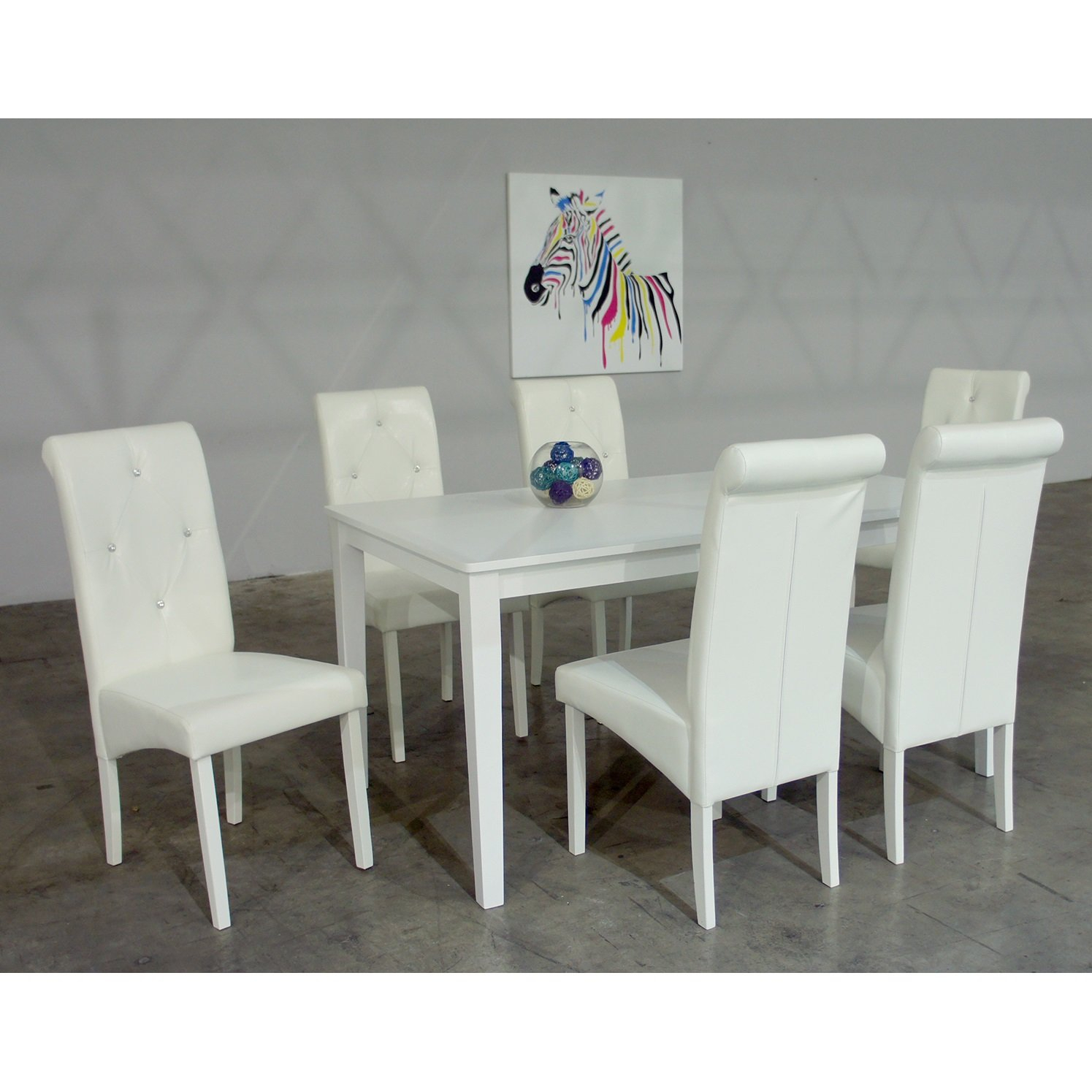 Dita 7 Piece Solid Wood Dining Set With Most Up To Date Valladares 3 Piece Pub Table Sets (View 14 of 20)