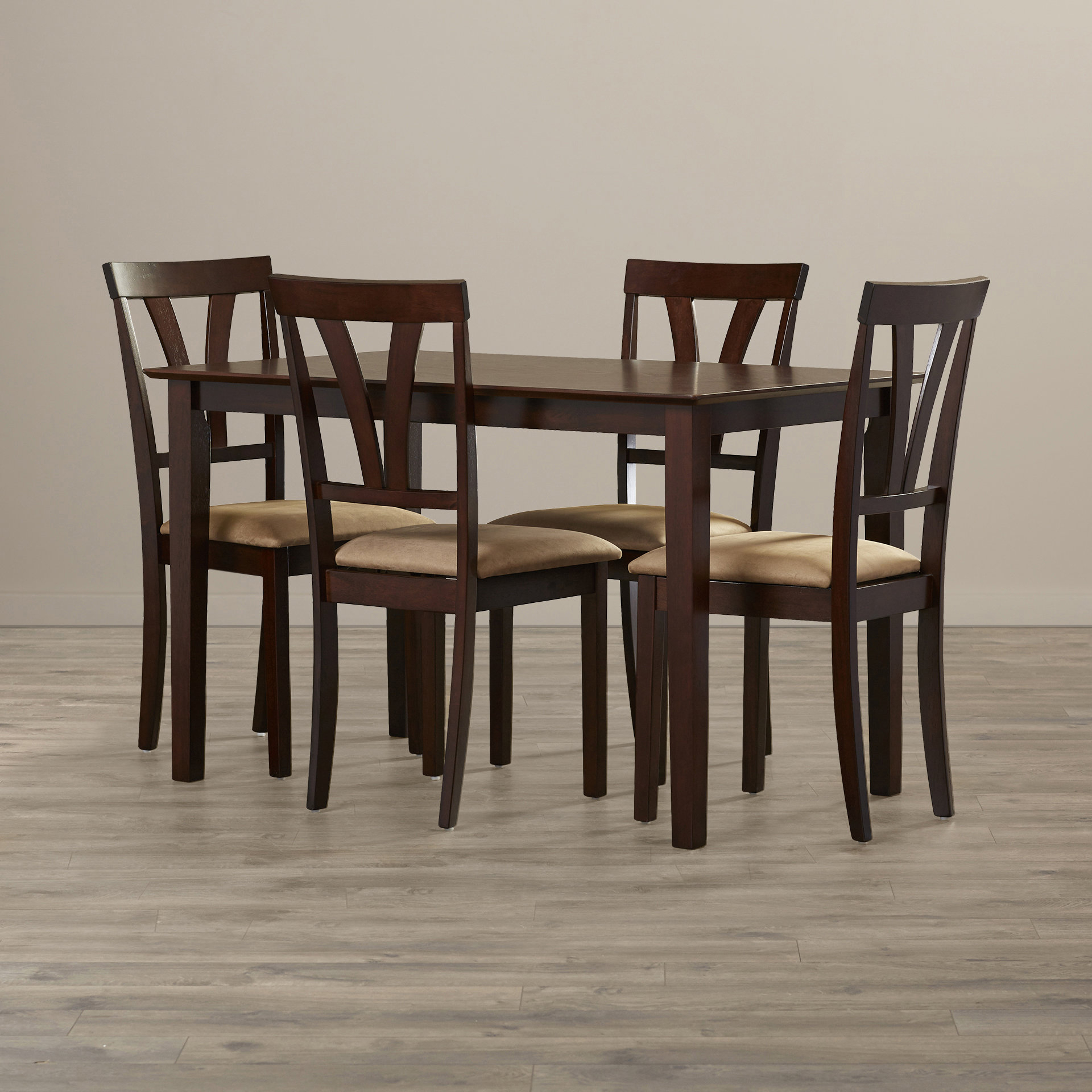 Donald 5 Piece Dining Set With Regard To Most Current Pattonsburg 5 Piece Dining Sets (View 5 of 20)