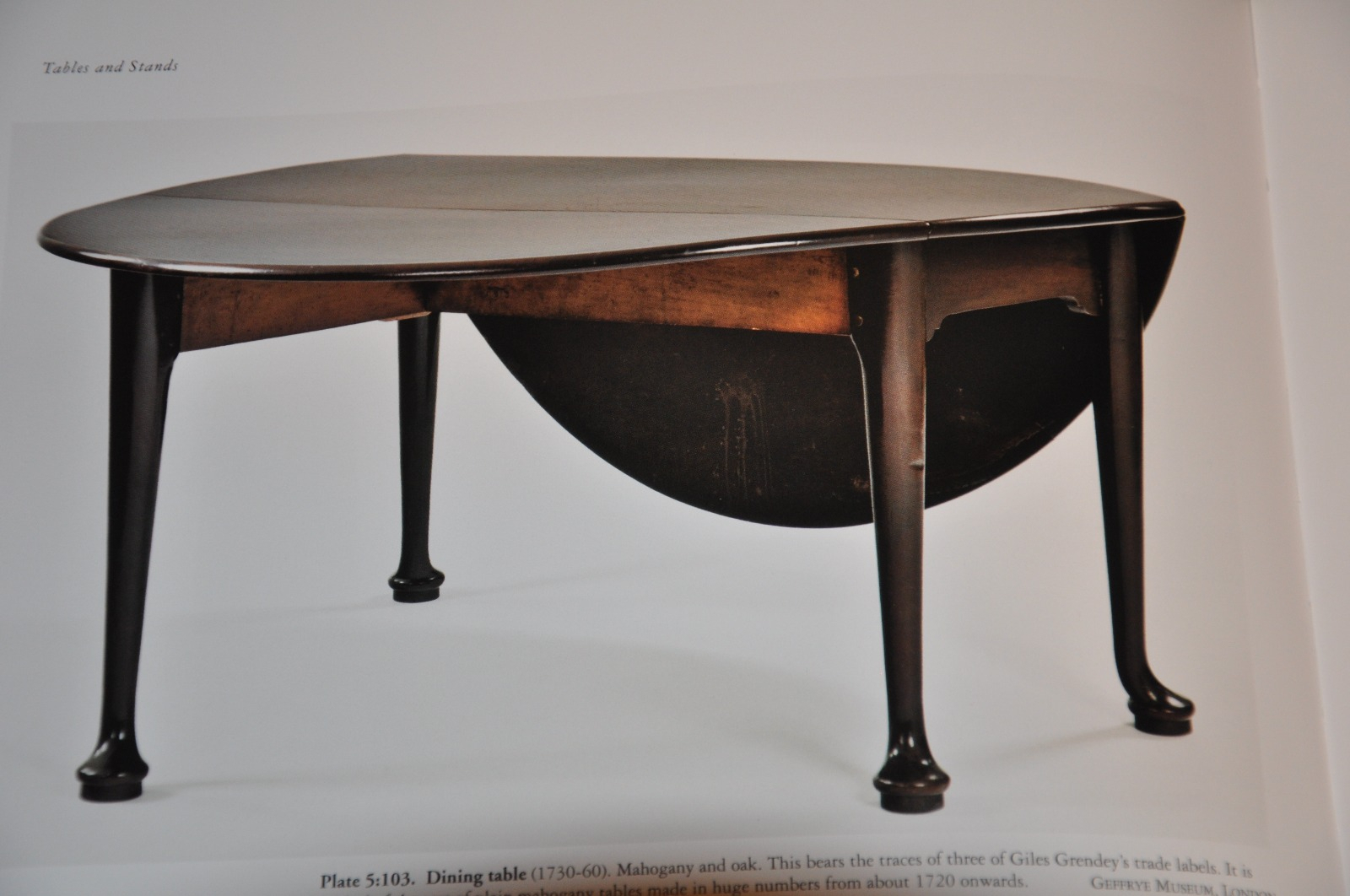 Early 18Th Century Mahogany Drop Leaf Dining Table Inside Newest Giles 3 Piece Dining Sets (View 13 of 20)
